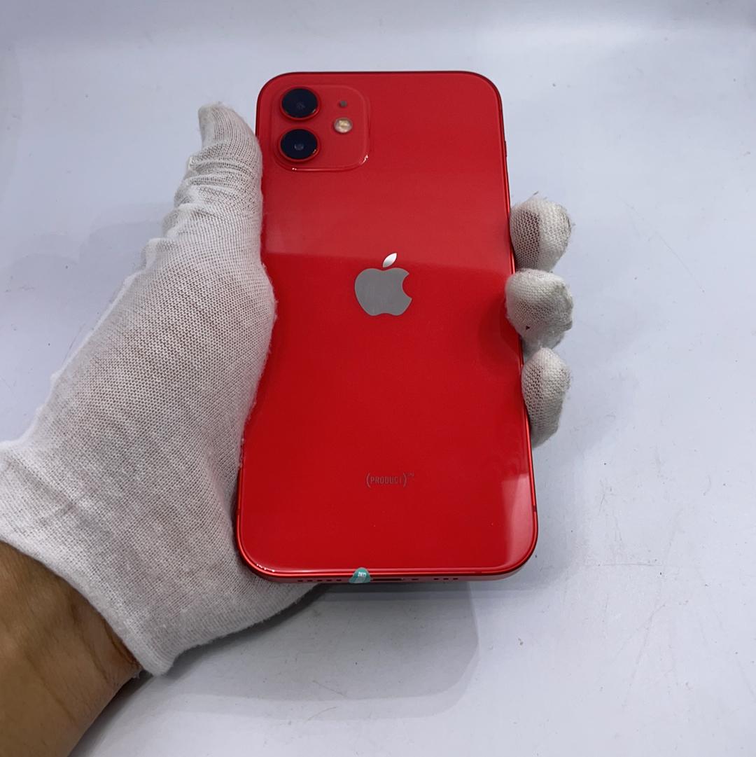 苹果【iPhone 12】5G全网通 红色 64G 国行 99新