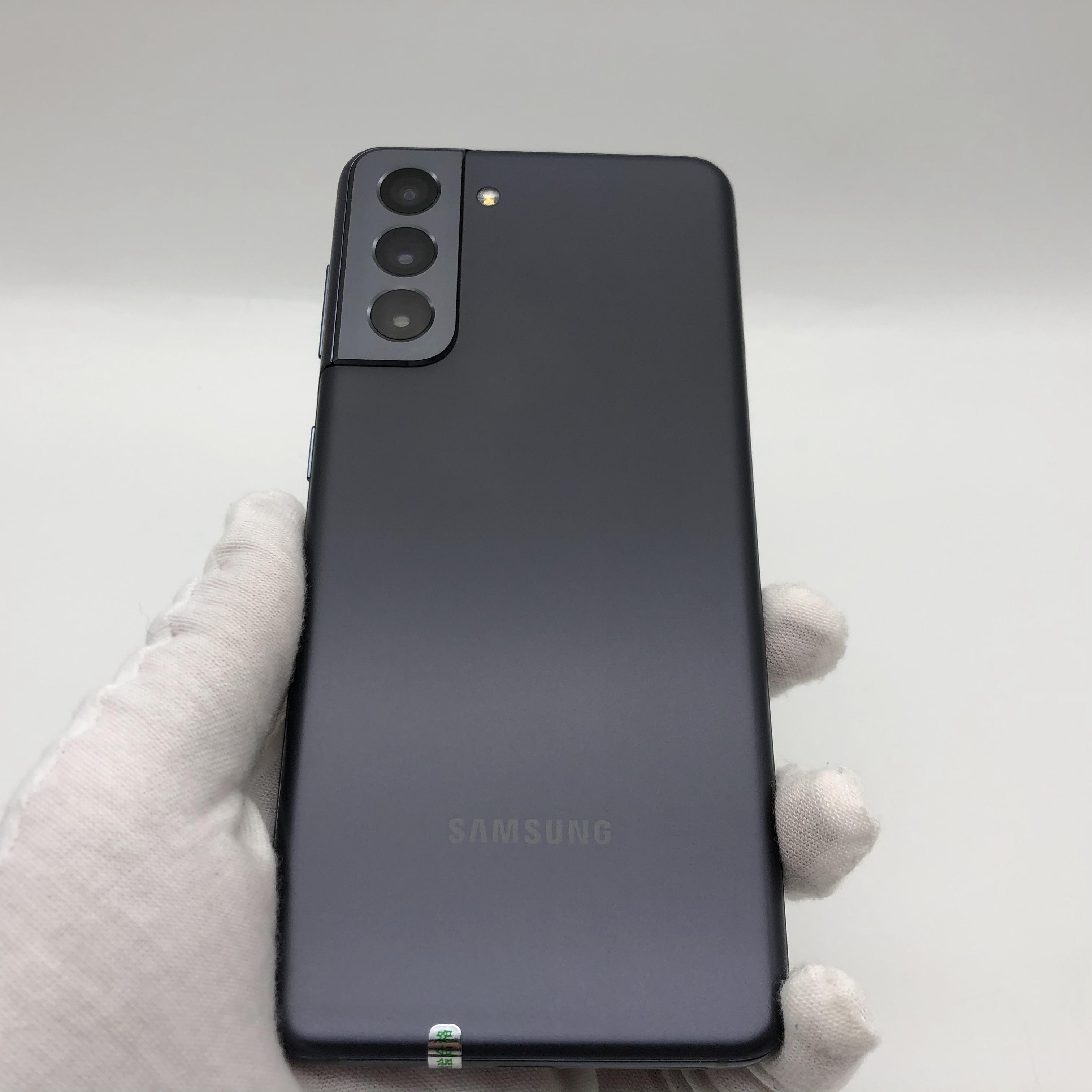 三星【Galaxy S21 5G】5G全网通 墨影灰 8G/256G 国行 99新