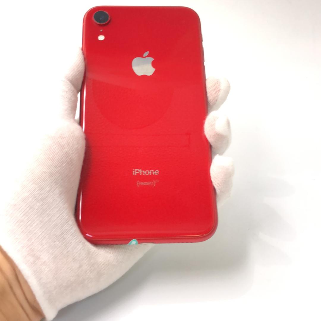 苹果【iPhone XR】4G全网通 红色 128G 国行 8成新