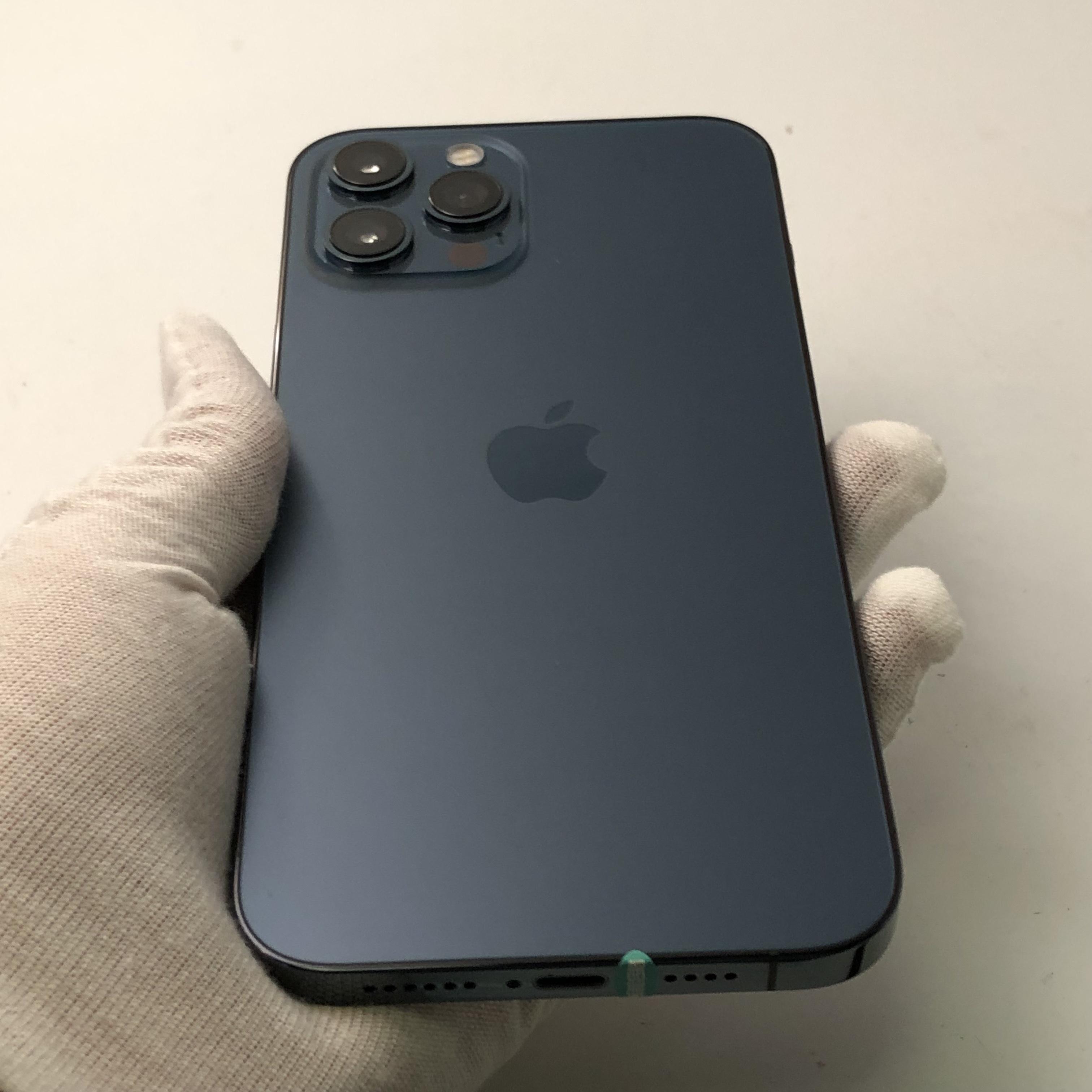 苹果【iPhone 12 Pro】5G全网通 海蓝色 128G 国行 99新