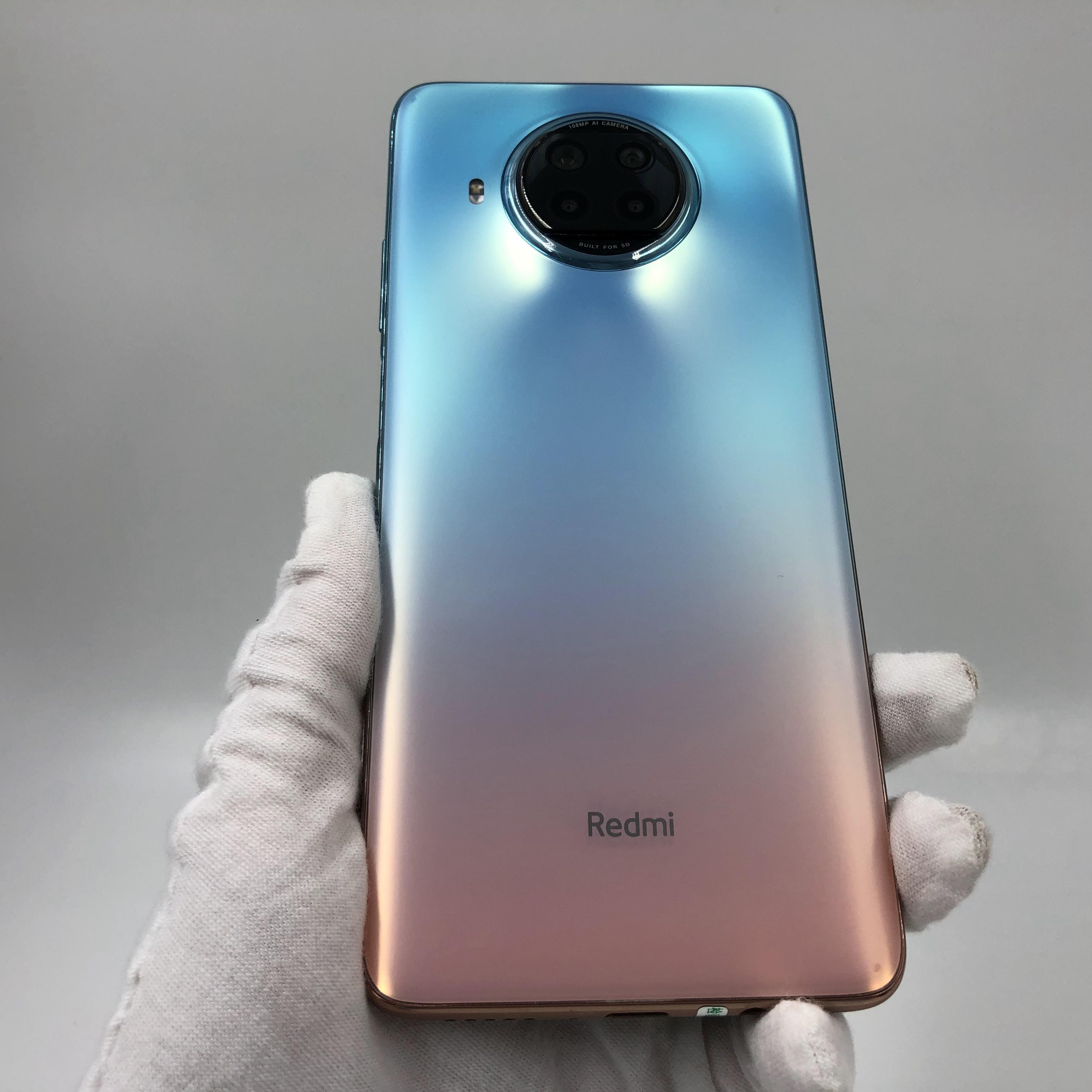 小米【Redmi Note 9 Pro 5G】5G全网通 湖光秋色 8G/256G 国行 9成新 真机实拍