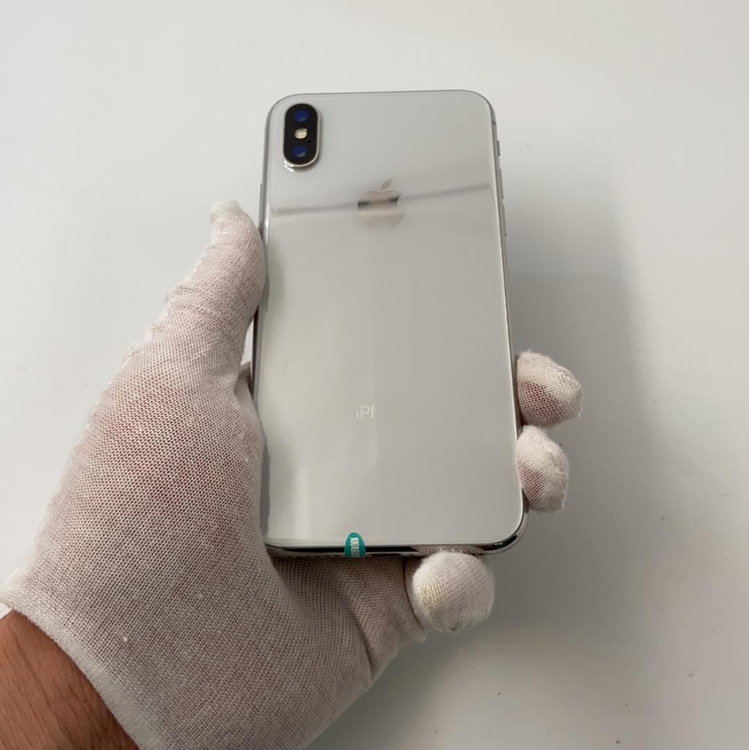 苹果【iPhone X】全网通 银色 256G 国行 95新