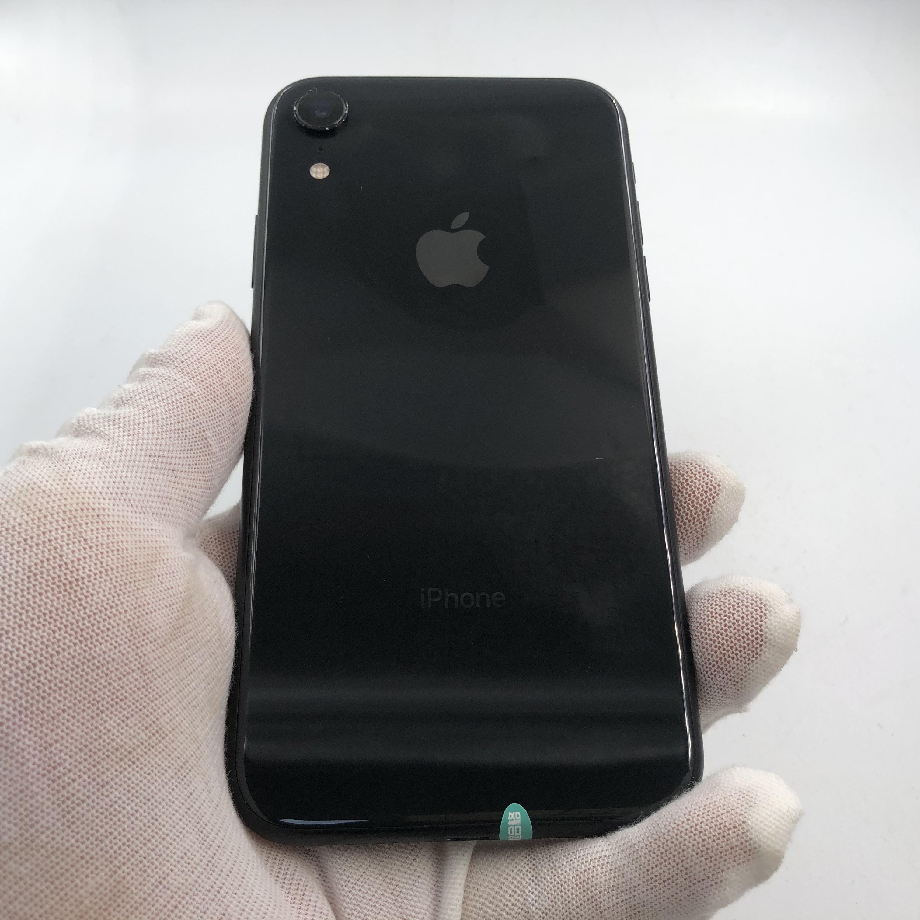 苹果【iPhone XR】4G全网通 黑色 64G 国行 9成新
