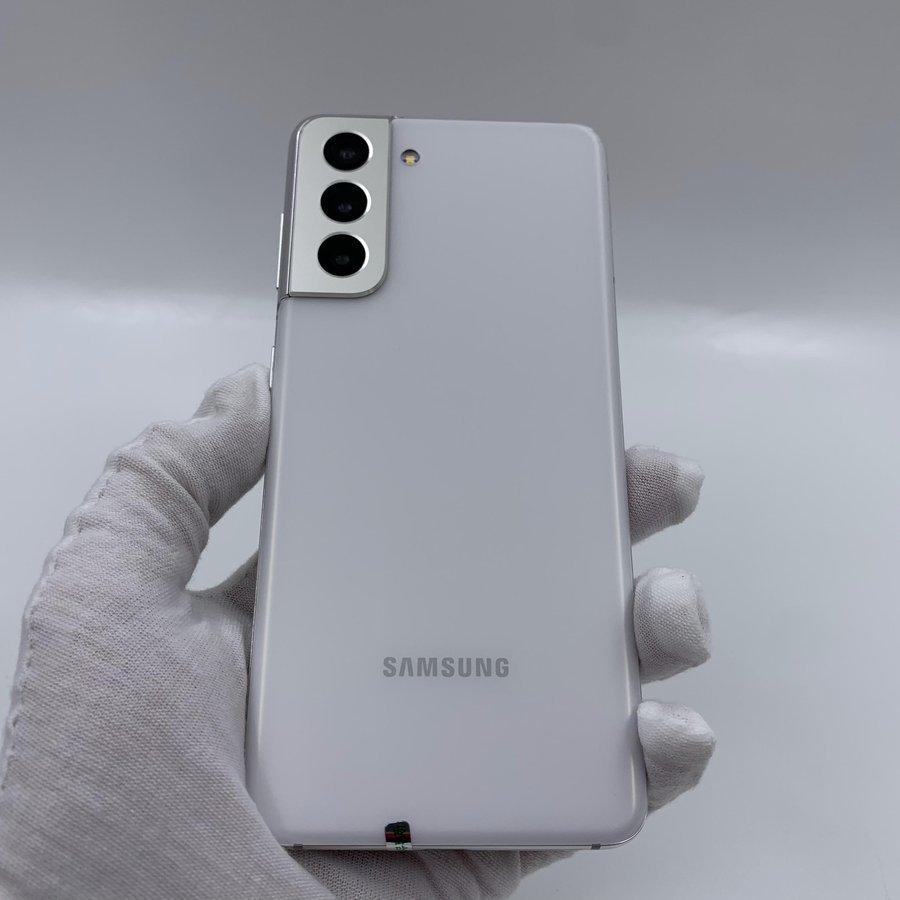 三星【Galaxy S21】5G全网通 丝雾白 8G/256G 国行 95新