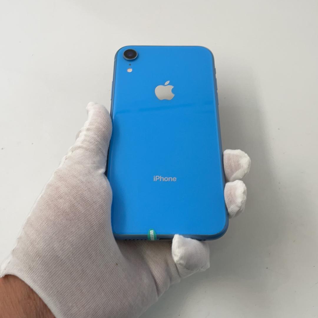 苹果【iPhone XR】4G全网通 蓝色 128G 国行 9成新