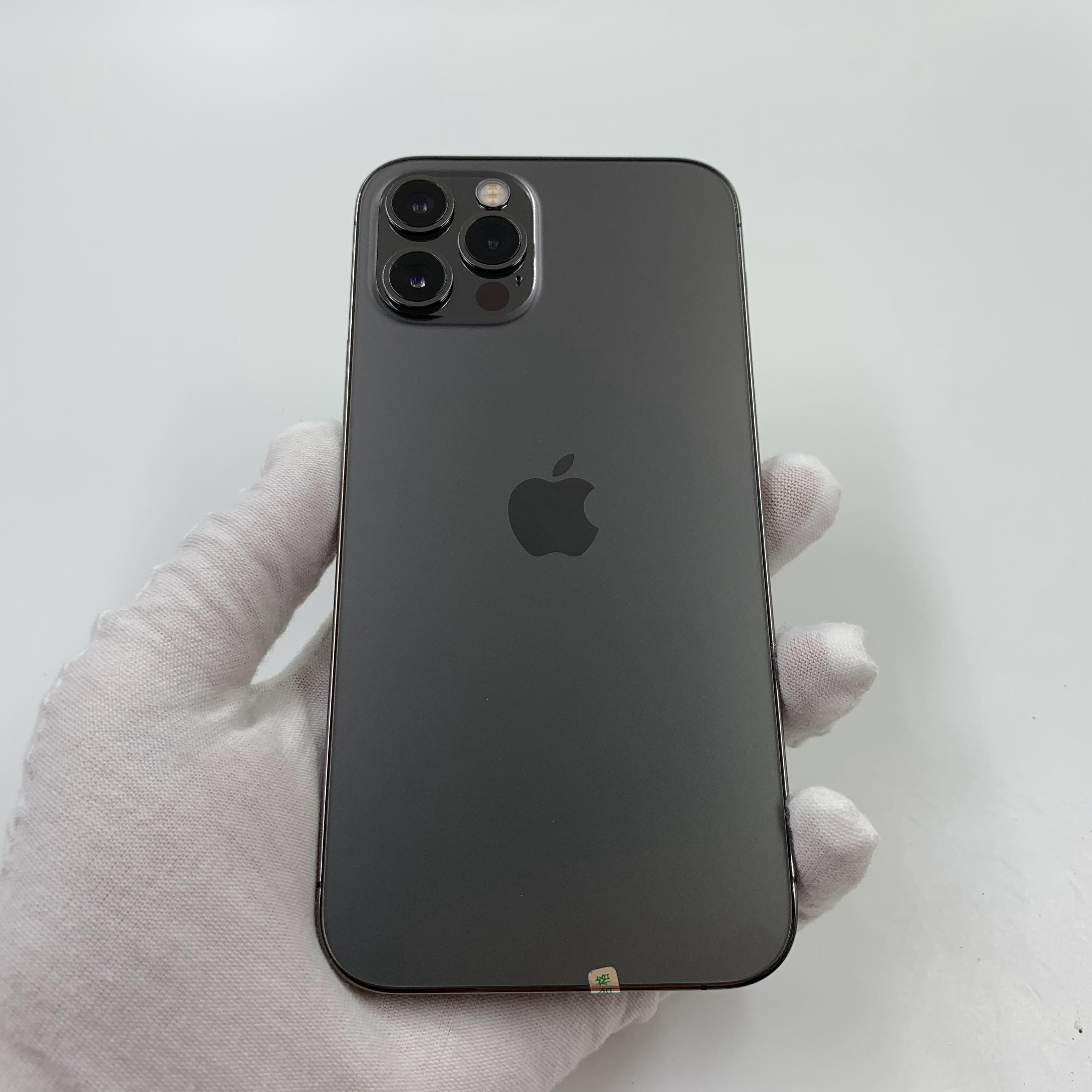 苹果【iPhone 12 Pro】5G全网通 石墨色 128G 国行 95新 真机实拍官保2022-01-09