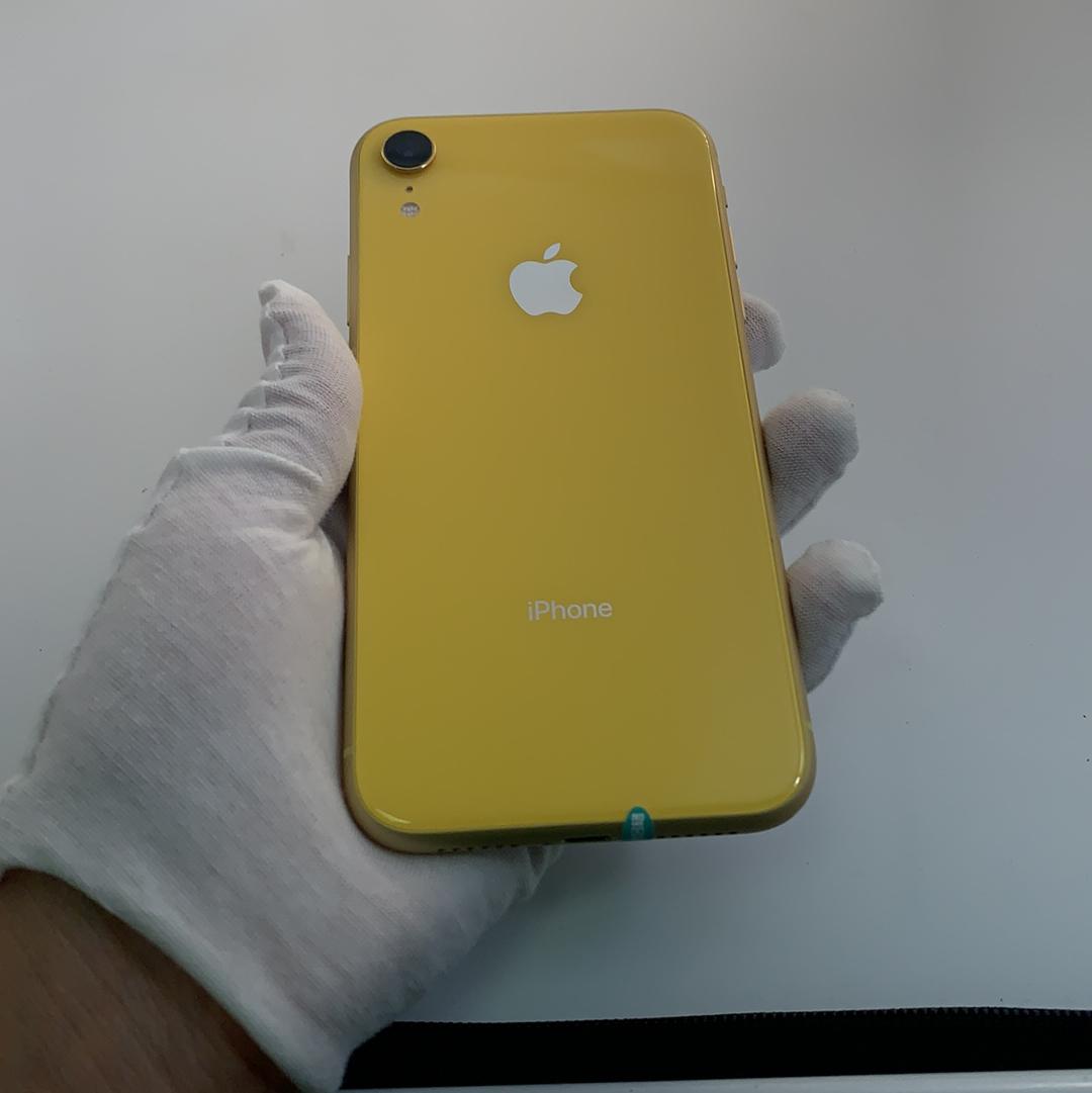 苹果【iPhone XR】4G全网通 黄色 128G 国行 9成新