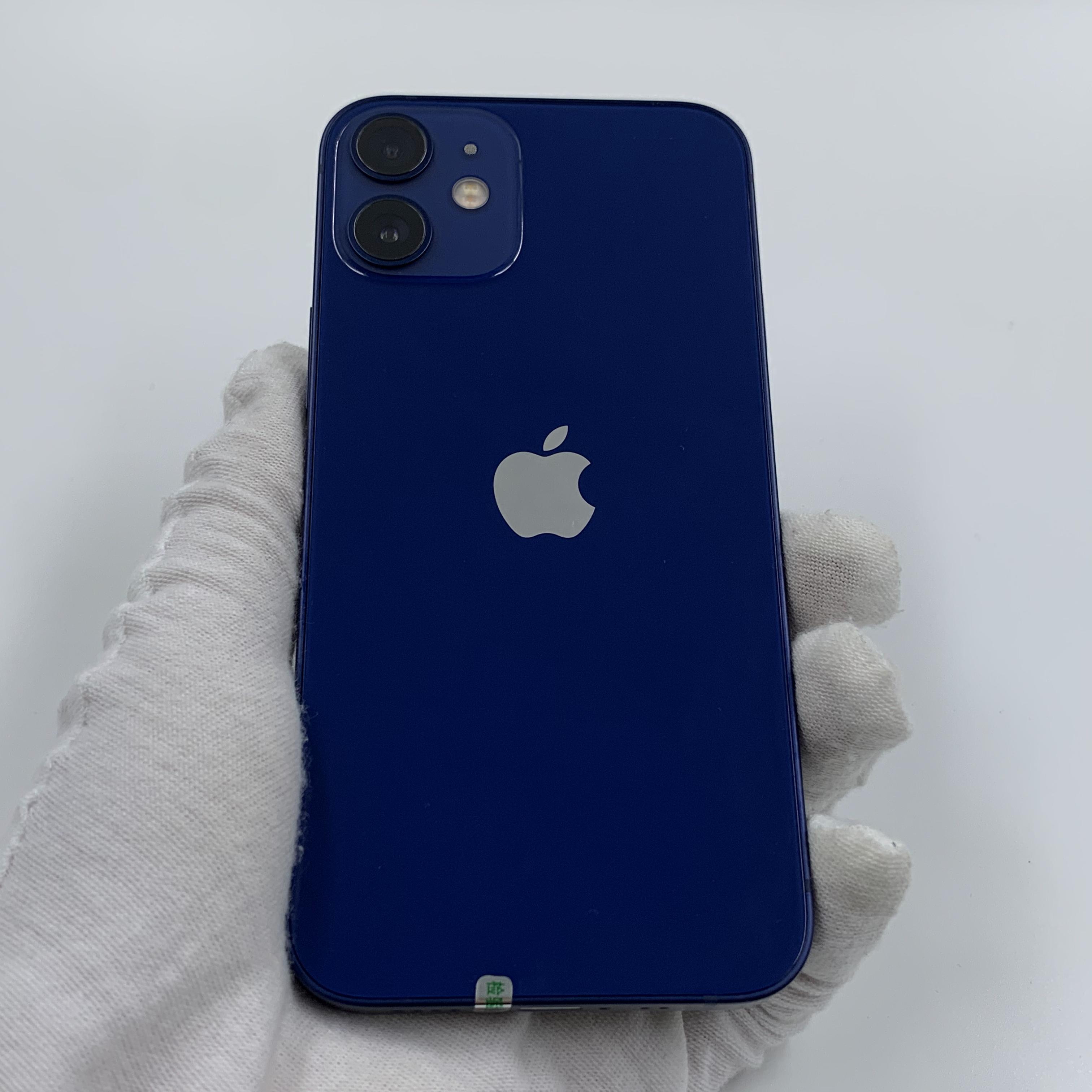 苹果【iPhone 12 mini】5G全网通 蓝色 128G 国行 95新 真机实拍保修2022-02-18