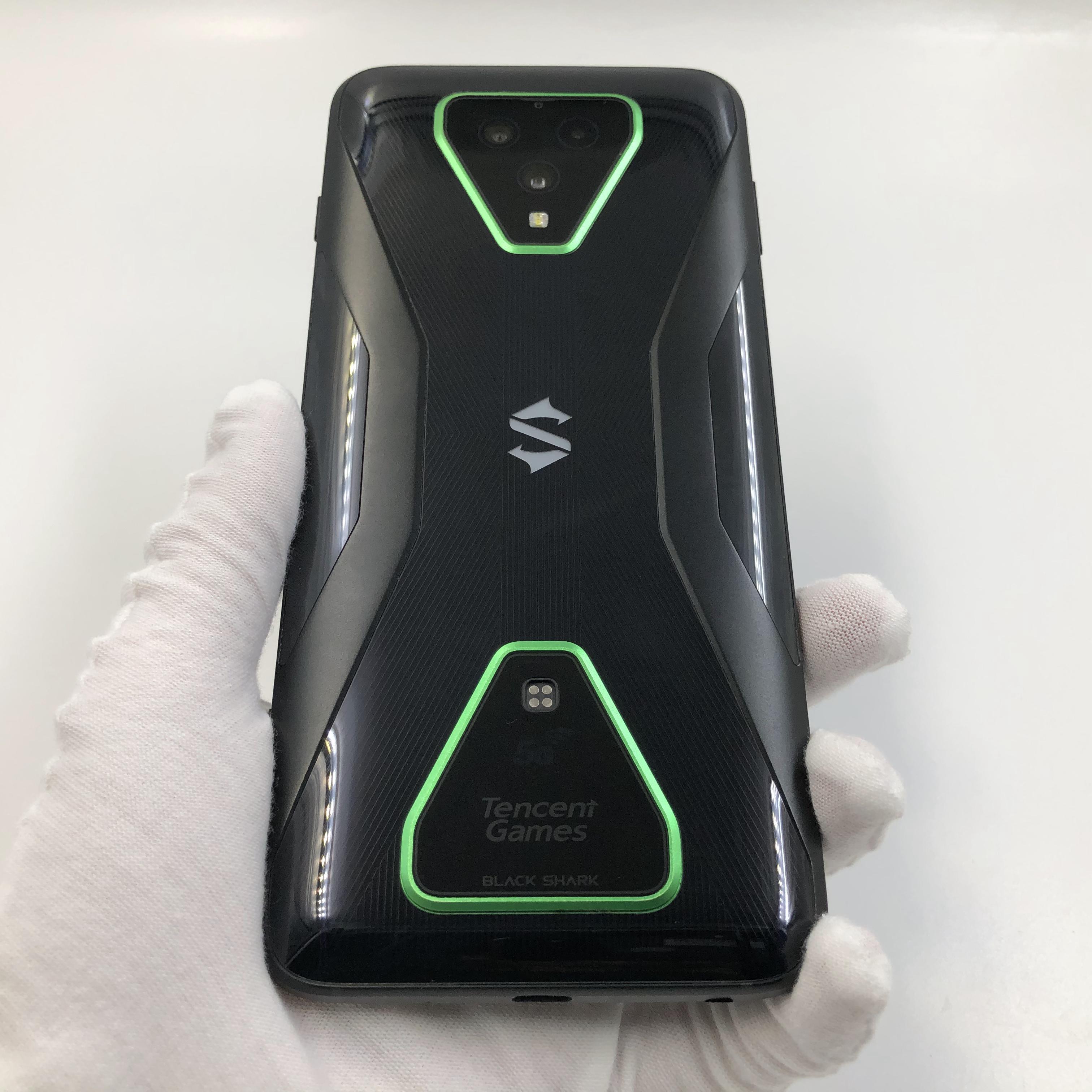 小米【黑鲨 3 Pro 5G】5G全网通 幻影黑 8G/256G 国行 8成新 真机实拍