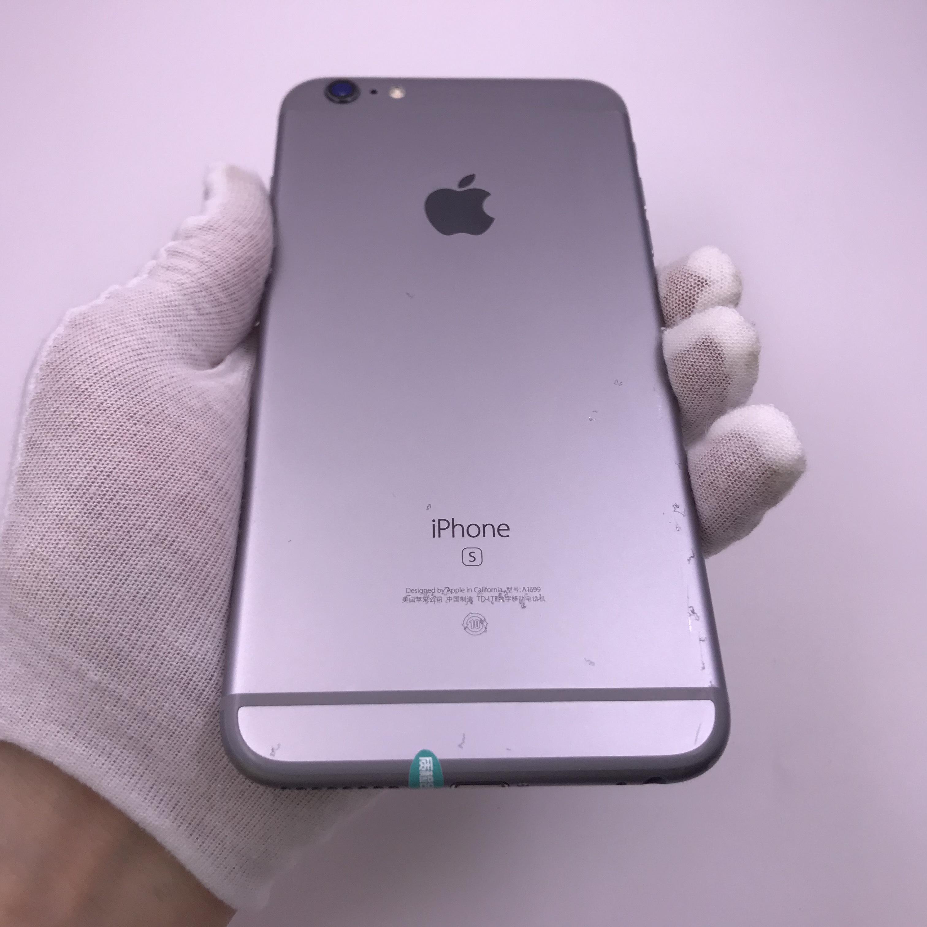 苹果【iPhone 6s Plus】4G全网通 深空灰 64G 国行 8成新