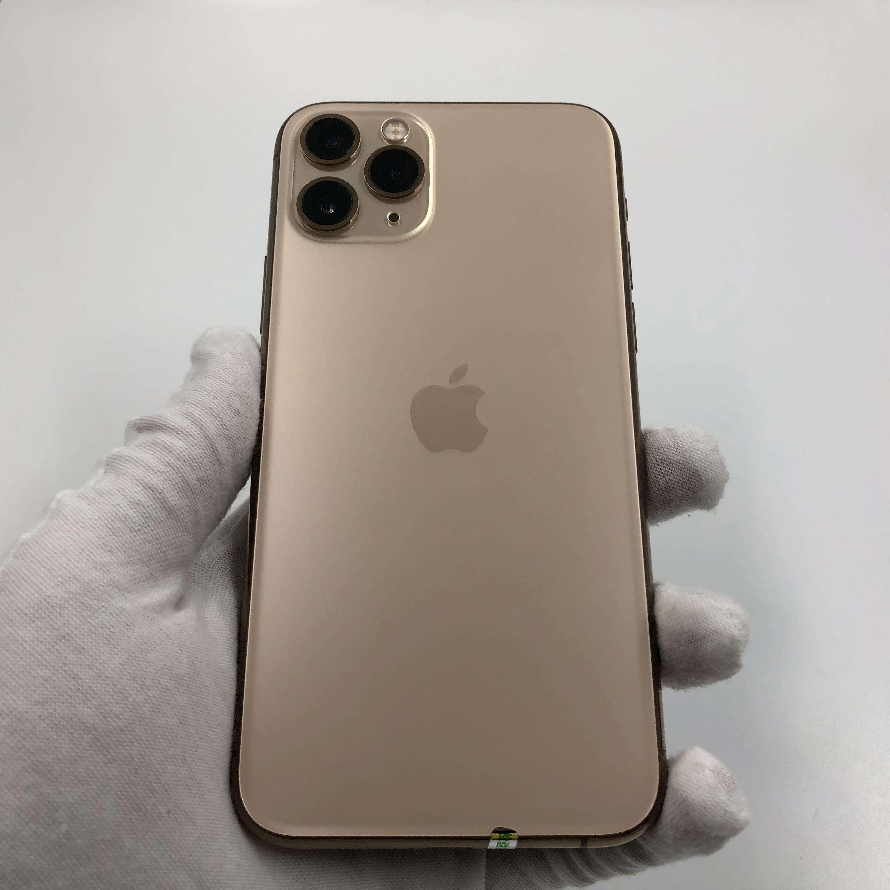苹果【iPhone 11 Pro】4G全网通 金色 64G 国行 95新 真机实拍