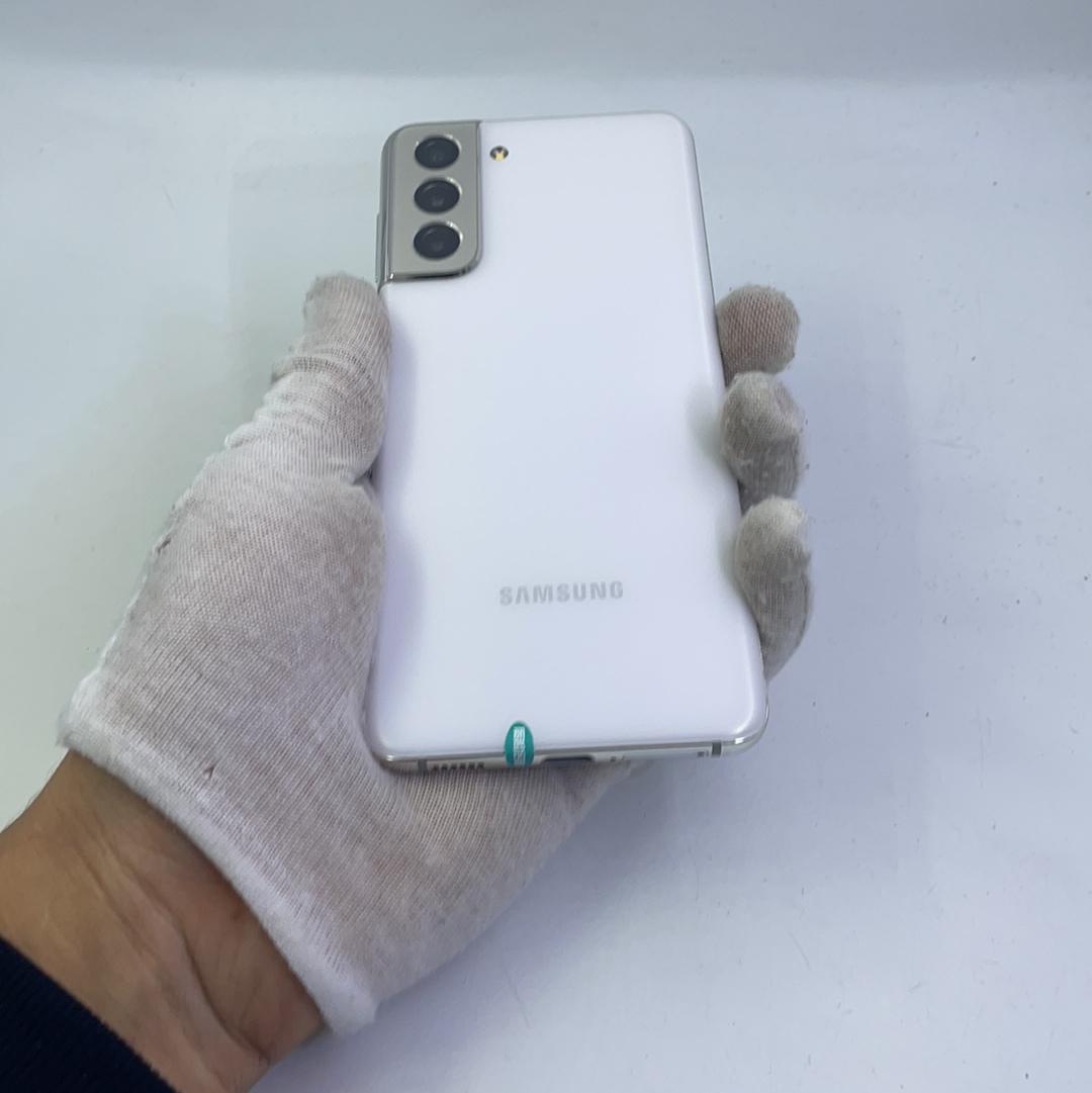 三星【Galaxy S21 5G】5G全网通 丝雾白 8G/128G 国行 9成新