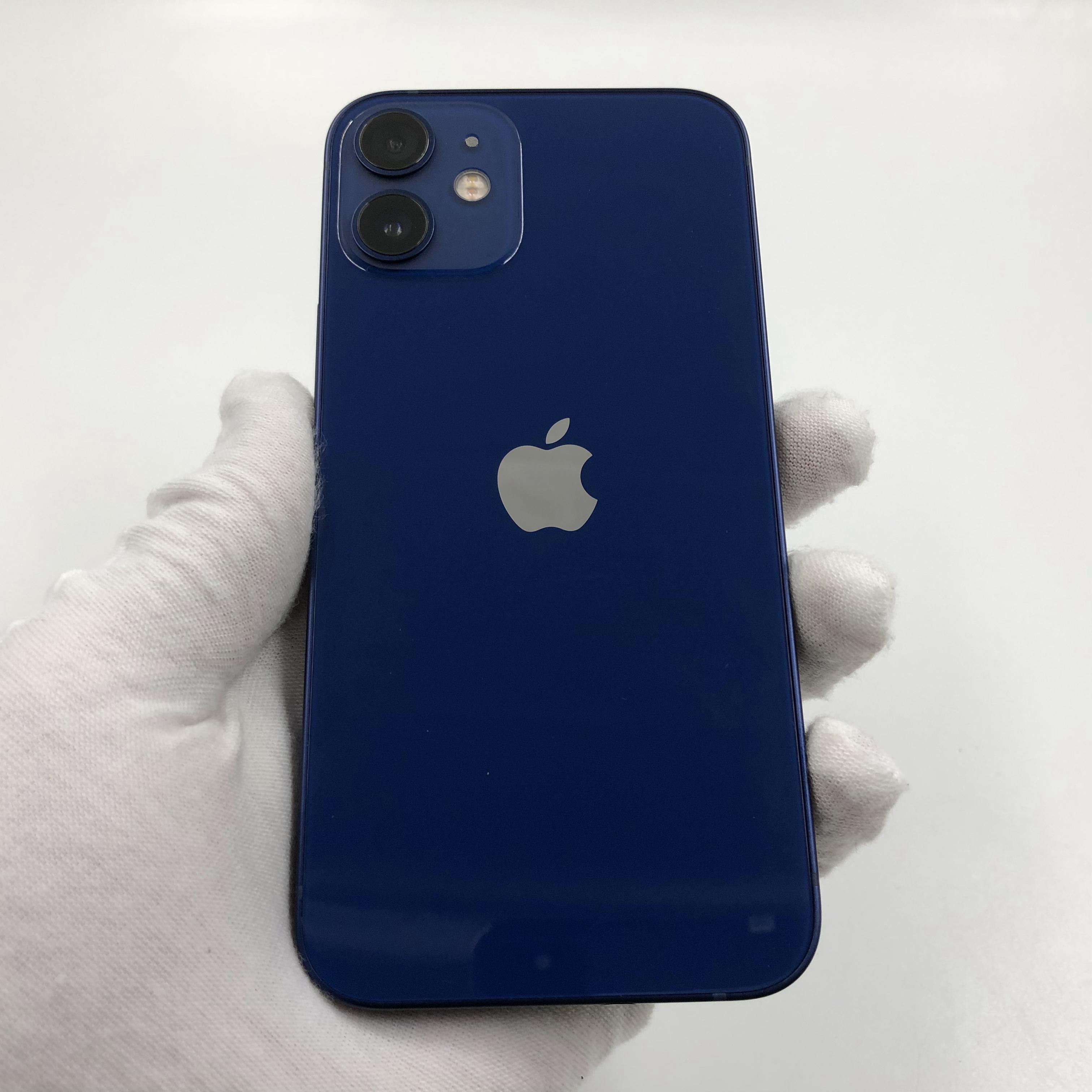 苹果【iPhone 12 mini】5G全网通 蓝色 128G 国行 95新 真机实拍官保2021-11-15