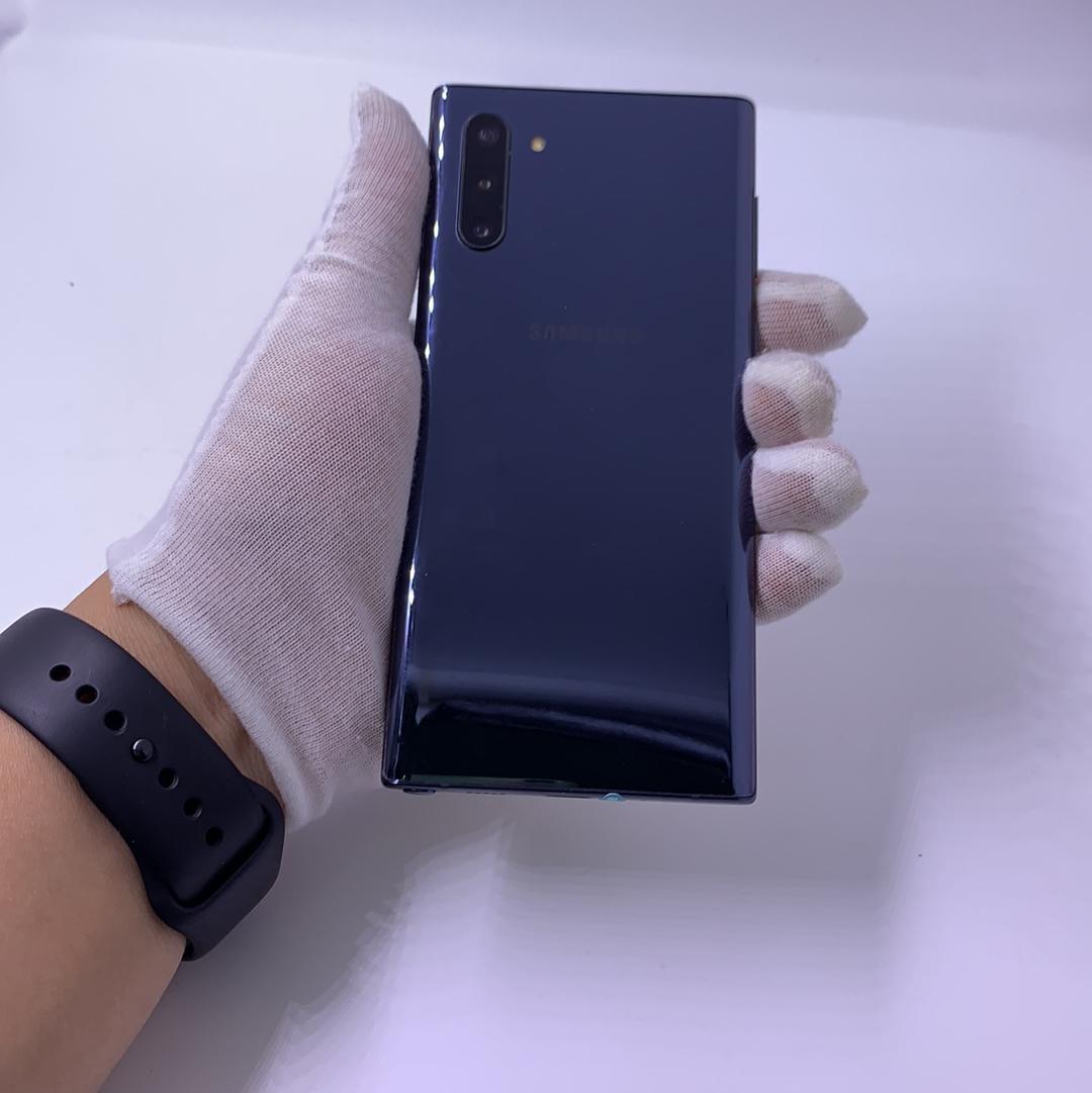 三星【Note10】4G全网通 黑色 8G/256G 国行 9成新