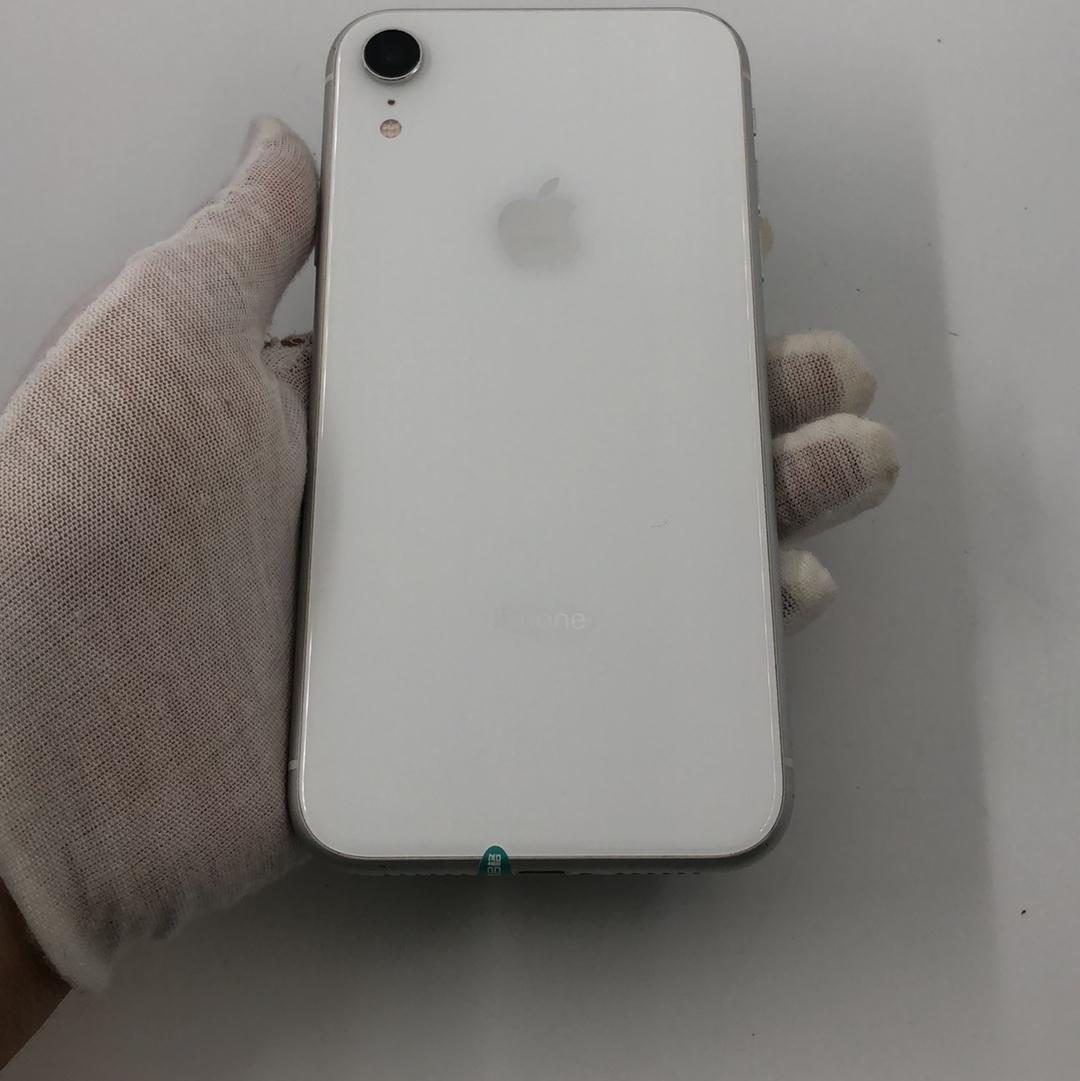 苹果【iPhone XR】4G全网通 白色 64G 国行 9成新