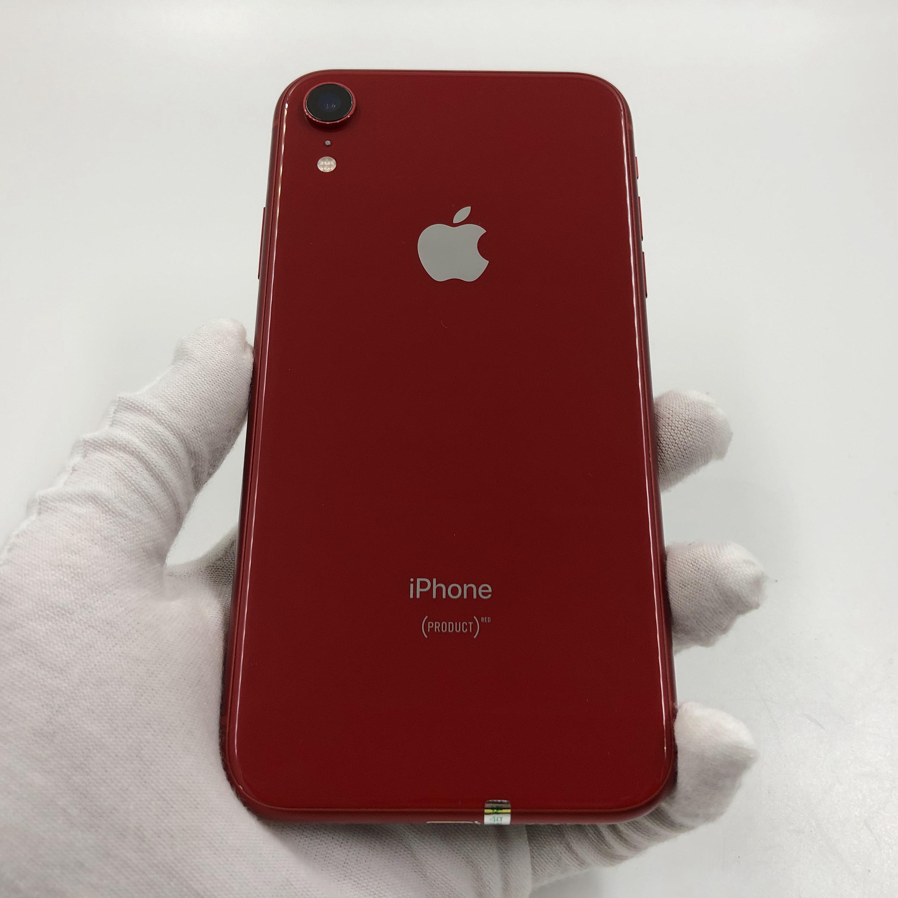 苹果【iPhone XR】4G全网通 红色 64G 国行 8成新 真机实拍