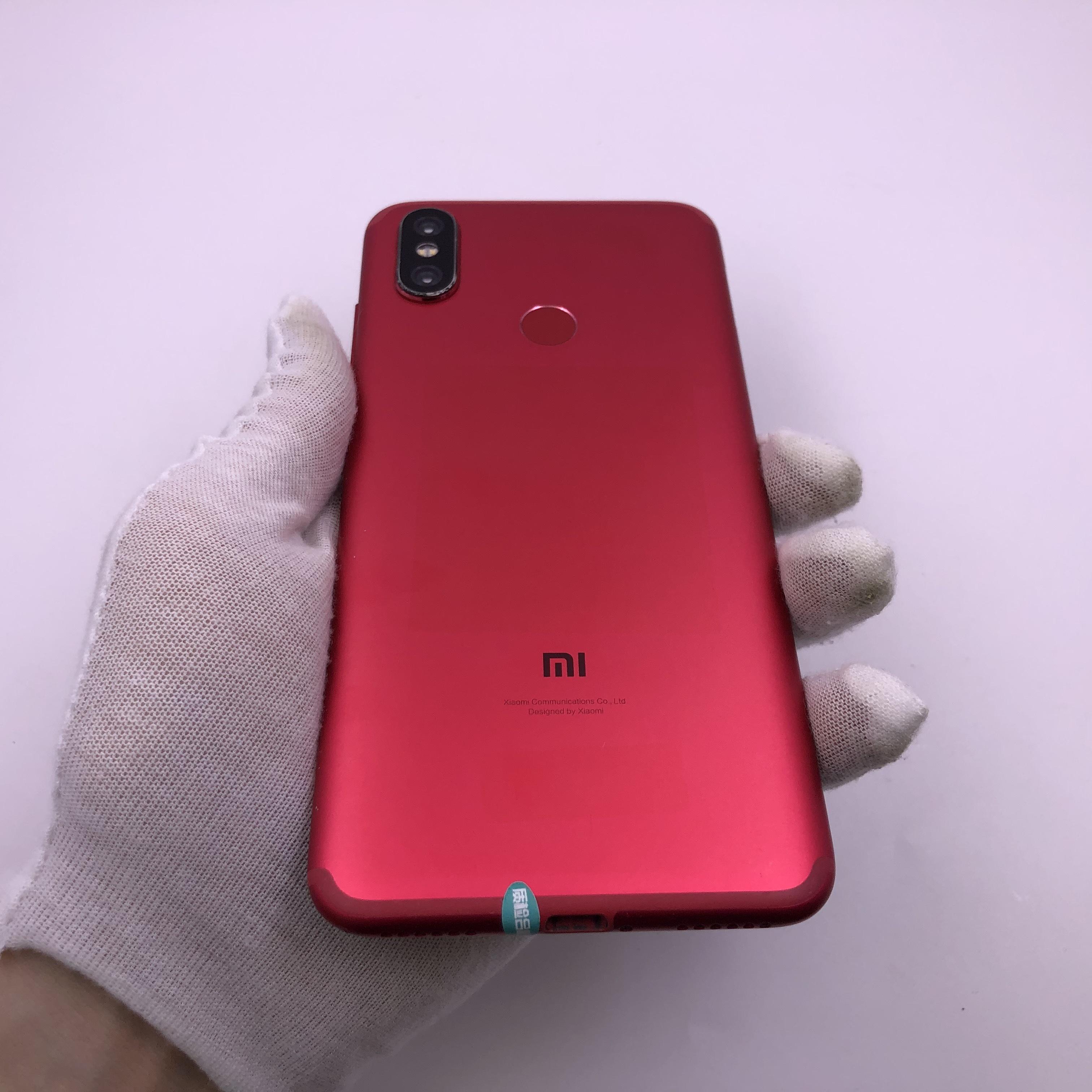 小米【小米 6X】4G全网通 红色 6G/128G 国行 8成新