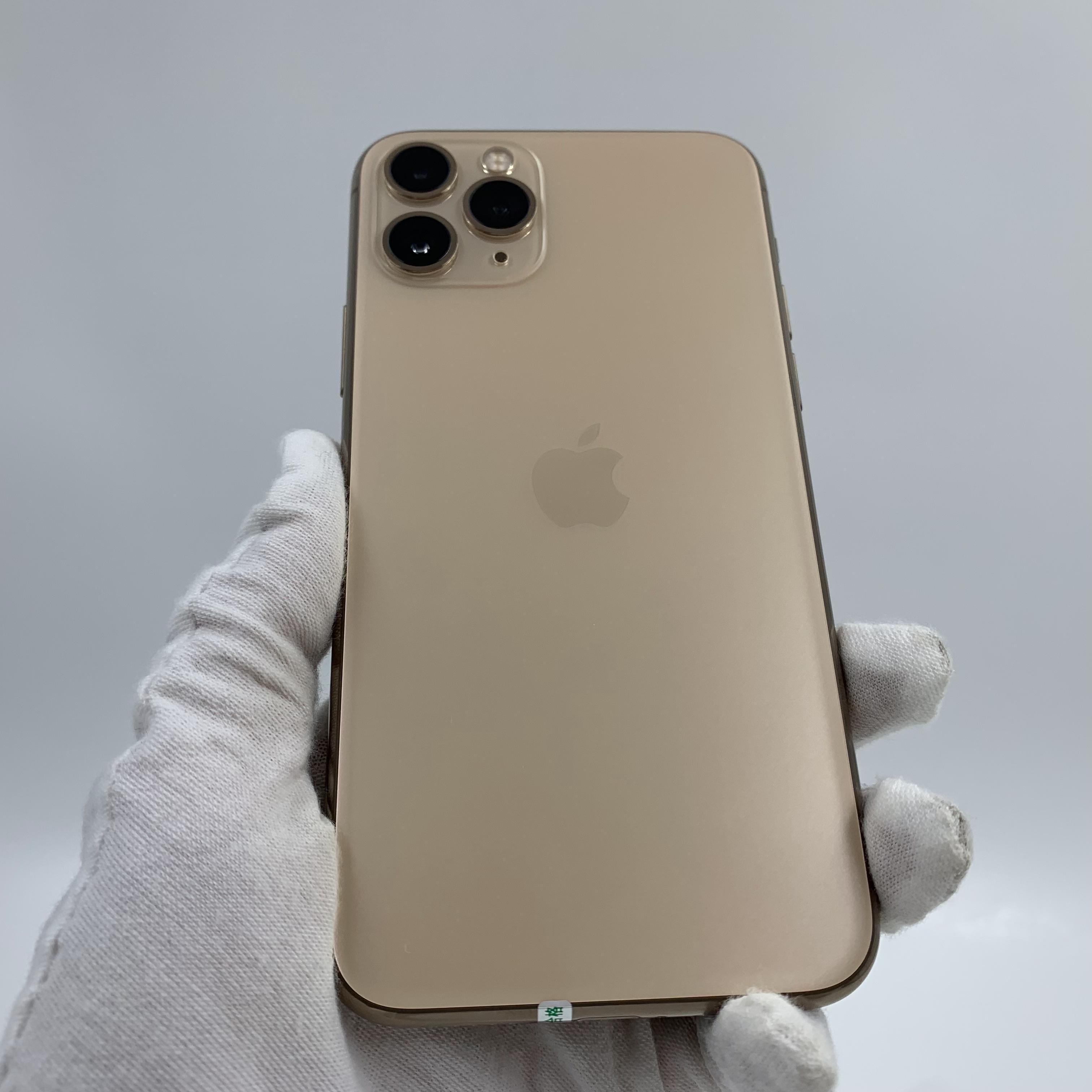 苹果【iPhone 11 Pro】4G全网通 金色 256G 国行 8成新 真机实拍