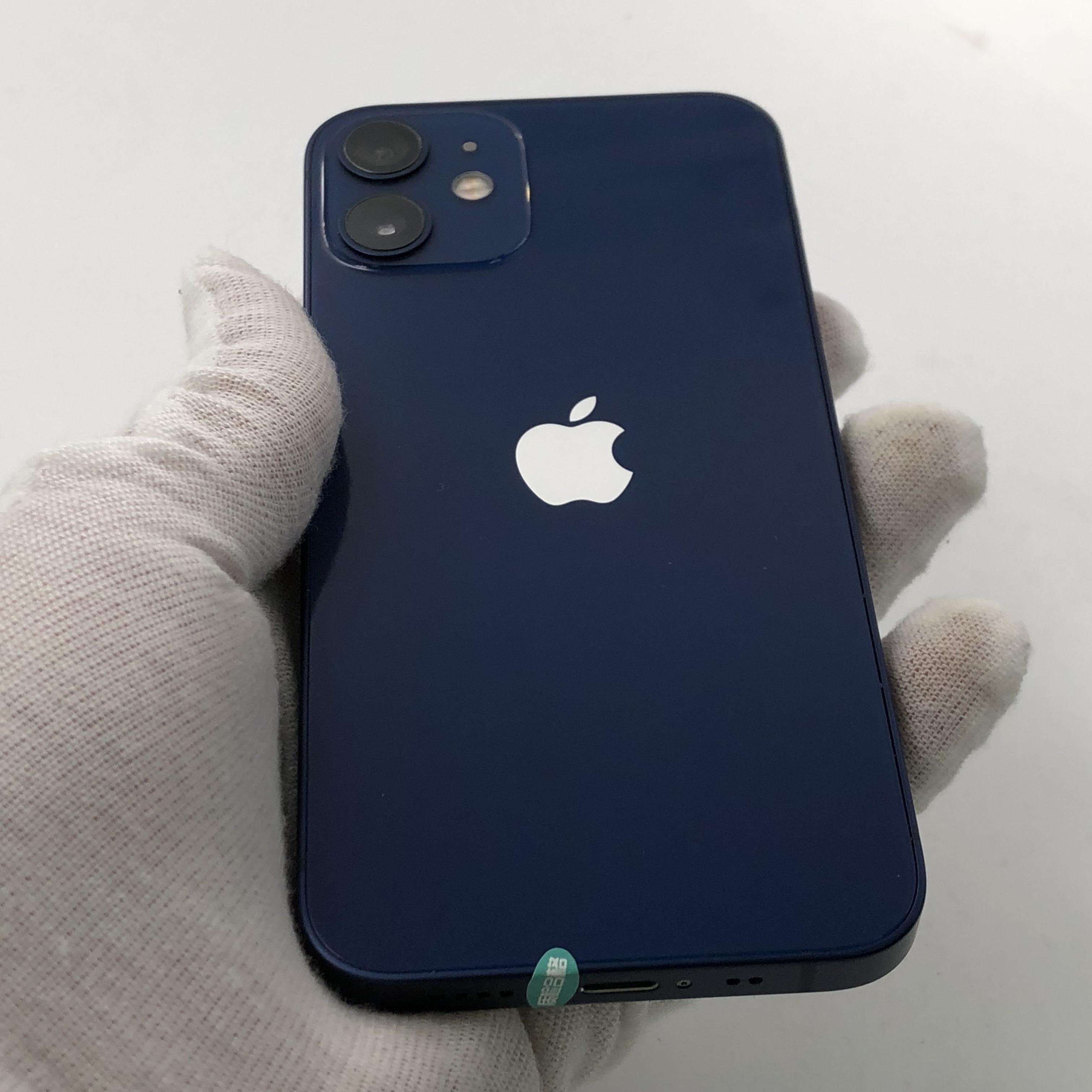 苹果【iPhone 12 mini】5G全网通 蓝色 128G 国行 99新