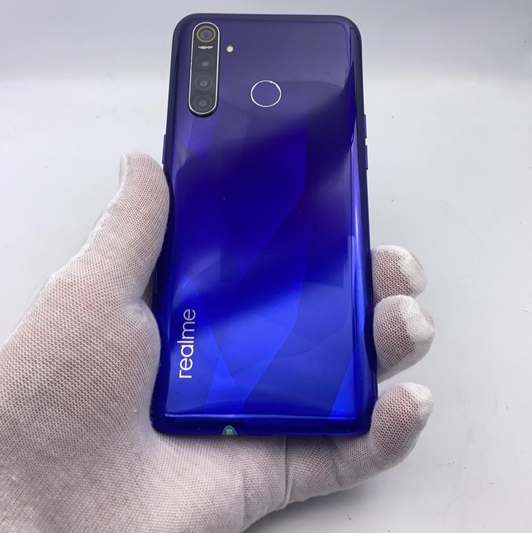 realme【真我 Q】4G全网通 蓝色 4G/64G 国行 8成新