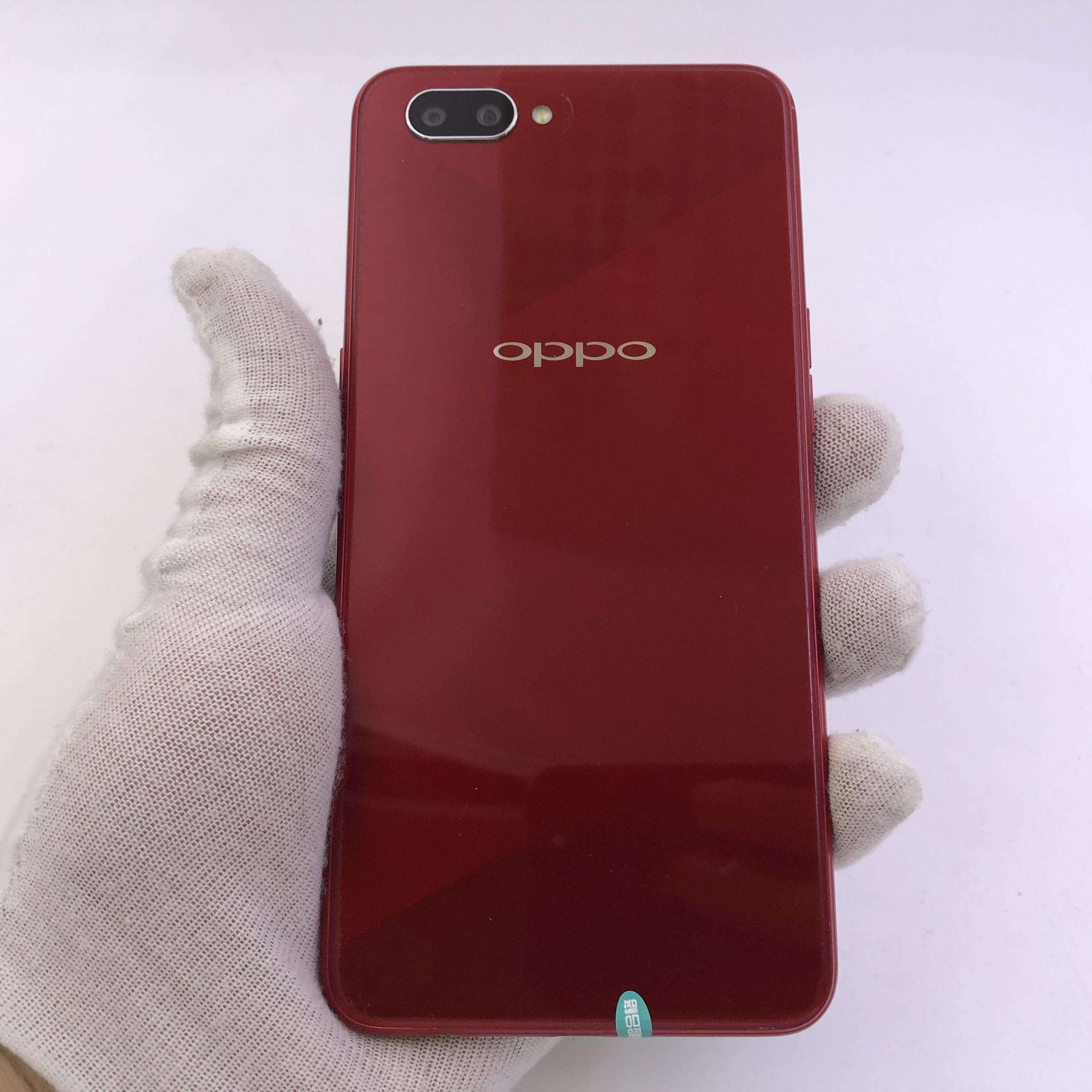 oppo【A5】4G全网通 红色 4G/64G 国行 95新