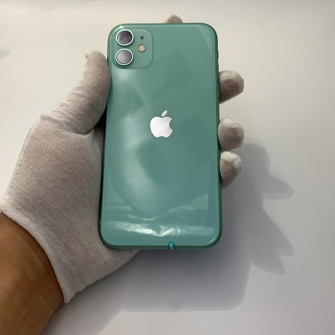 苹果【iPhone 11】4G全网通 绿色 256G 国行 95新