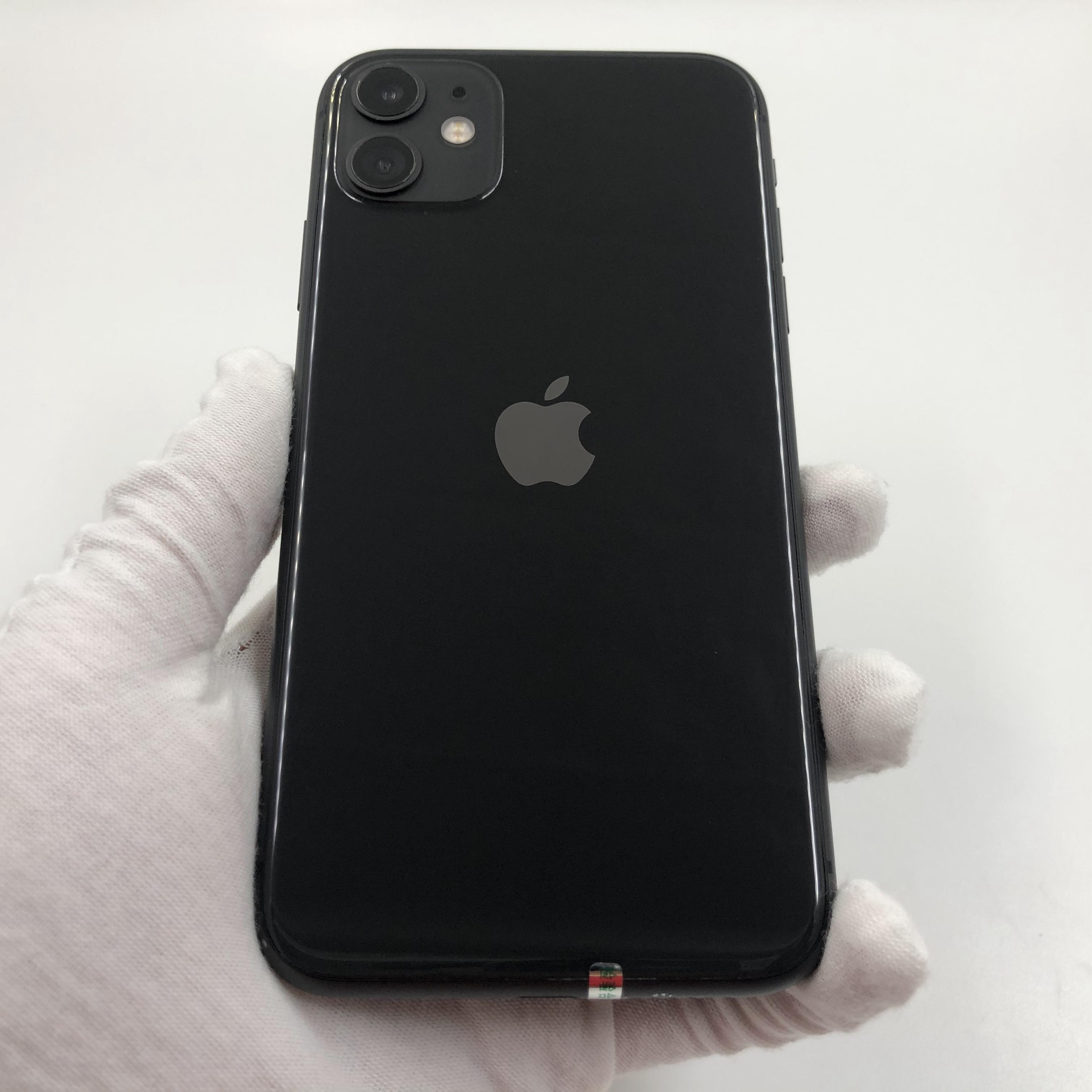 苹果【iPhone 11】4G全网通 黑色 64G 国行 8成新 真机实拍