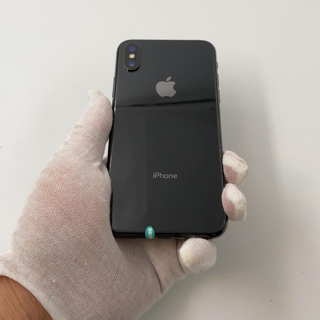 苹果【iPhone X】4G全网通 深空灰 256G 国行 9成新