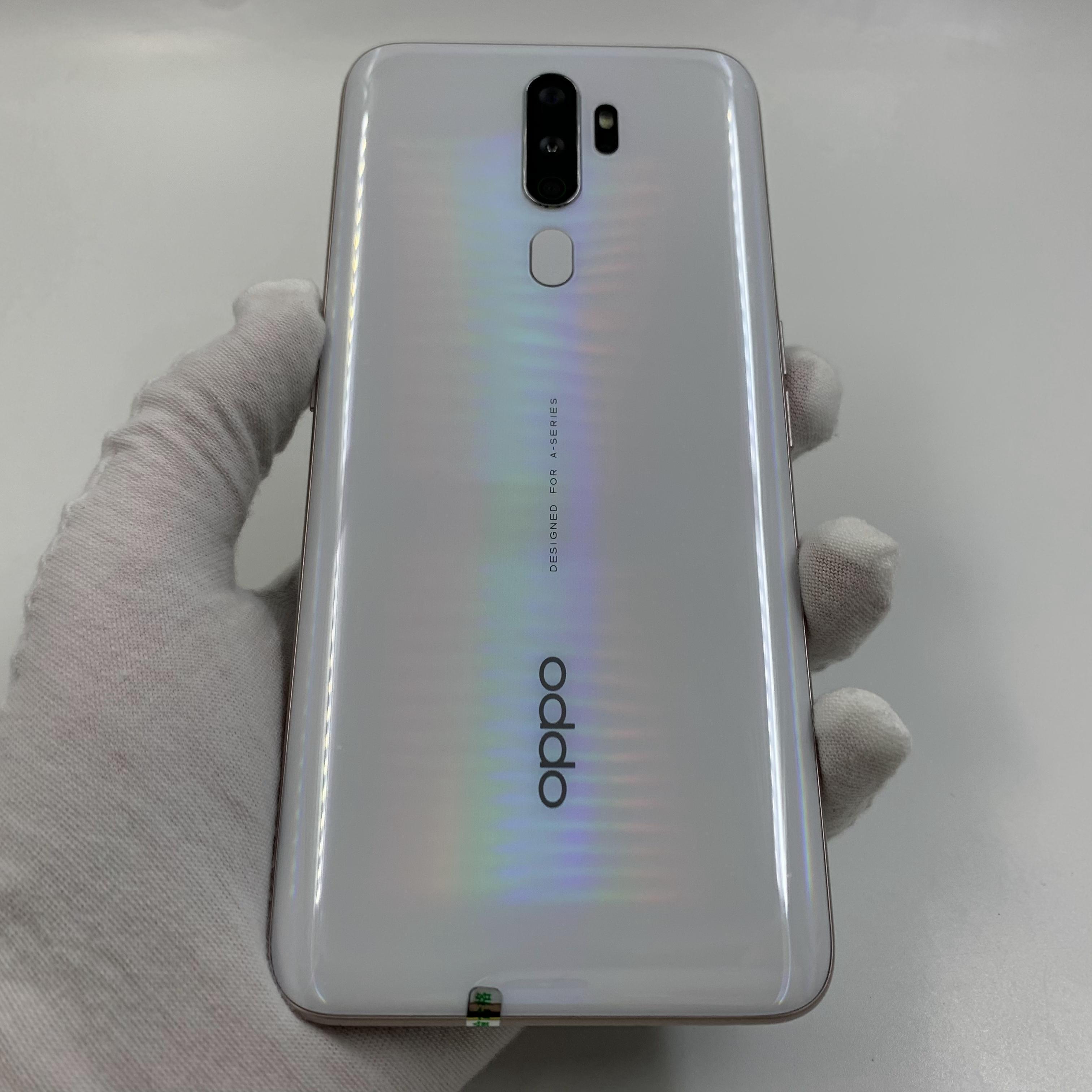 oppo【A11(2019版)】4G全网通 白色 4G/128G 国行 95新 真机实拍
