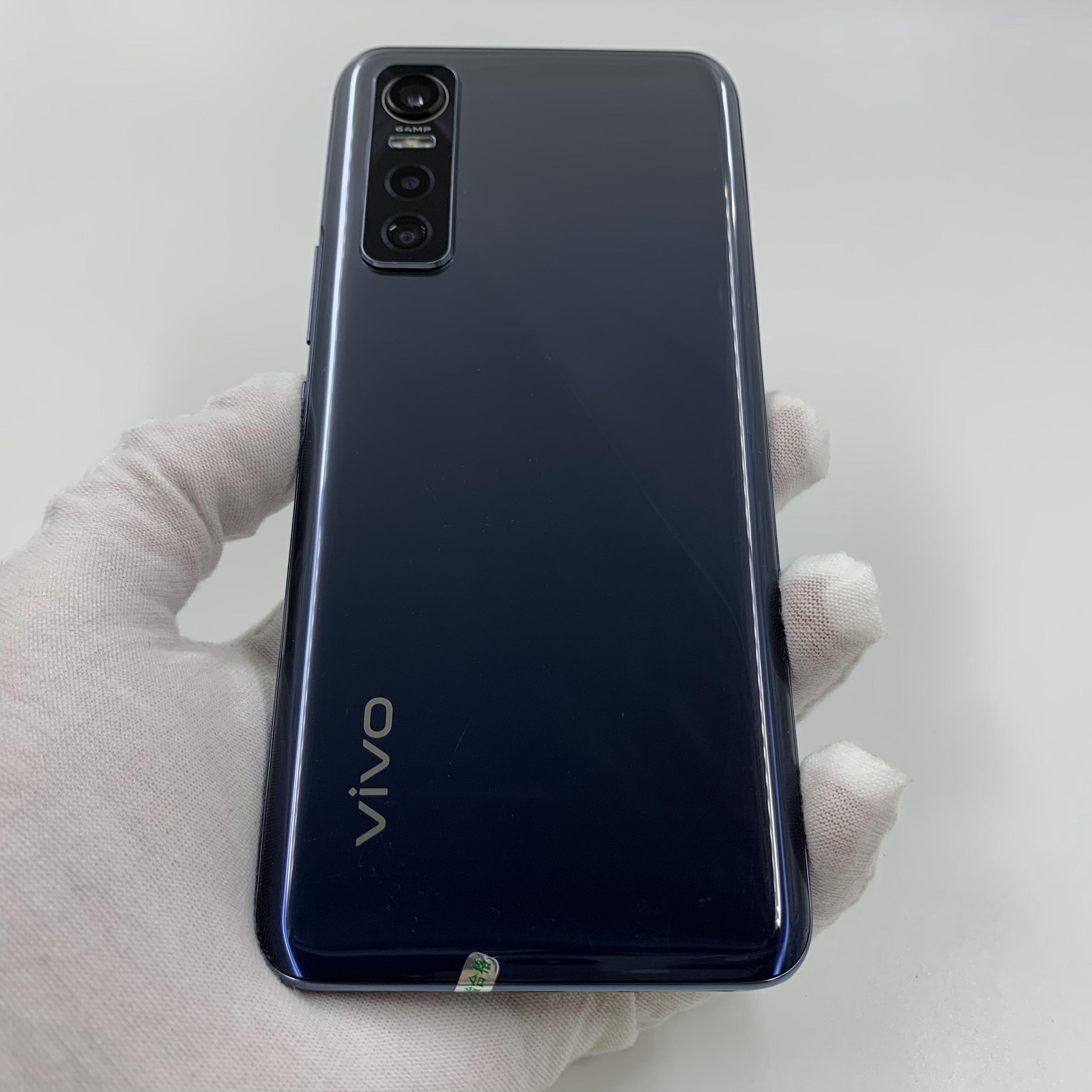 vivo【S7e活力版 5G】5G全网通 黑镜 8G/256G 国行 8成新 真机实拍