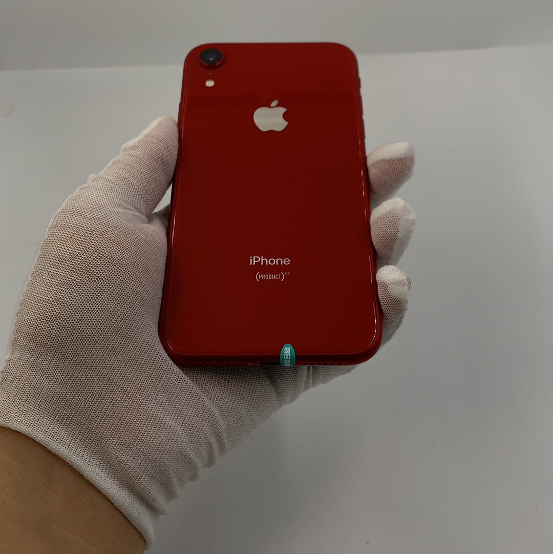 苹果【iPhone XR】4G全网通 红色 128G 国行 95新