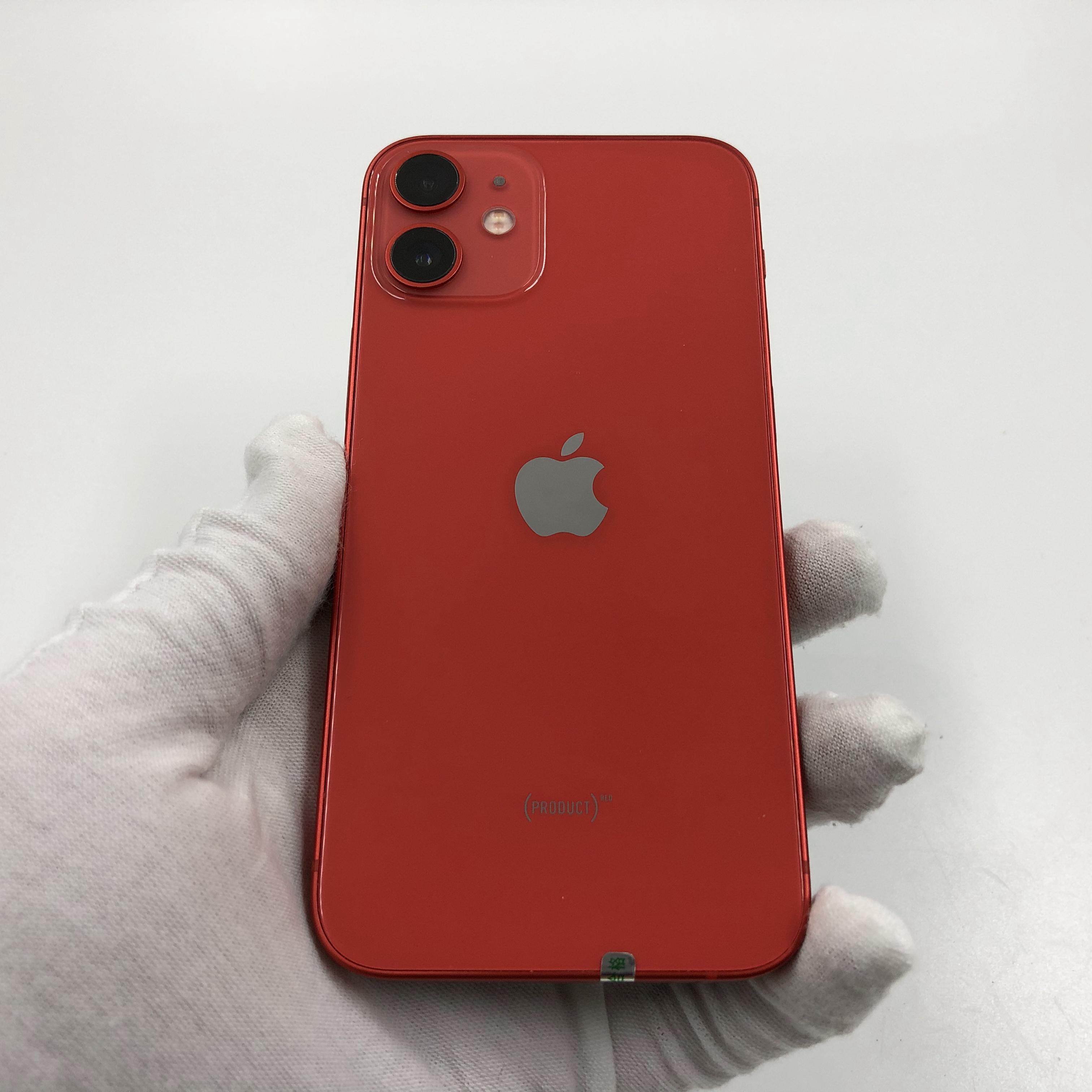 苹果【iPhone 12 mini】5G全网通 红色 128G 国行 95新 真机实拍官保2021-12-15