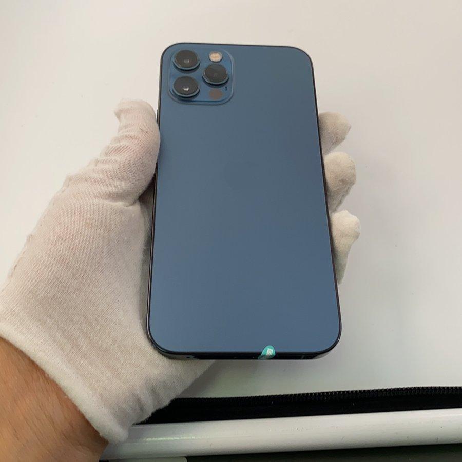 苹果【iPhone 12 Pro】5G全网通 海蓝色 256G 国行 8成新
