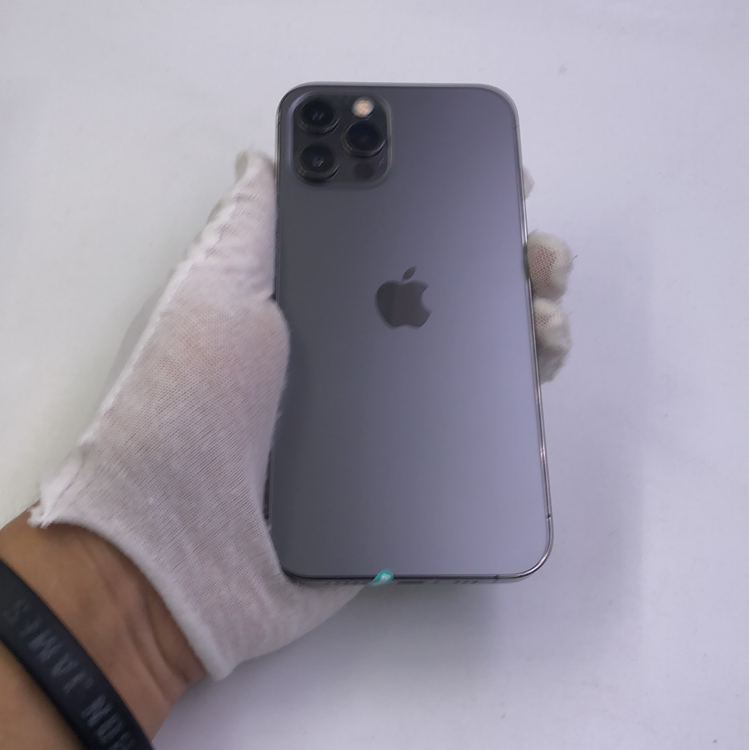 苹果【iPhone 12 Pro】5G全网通 石墨色 256G 国行 95新