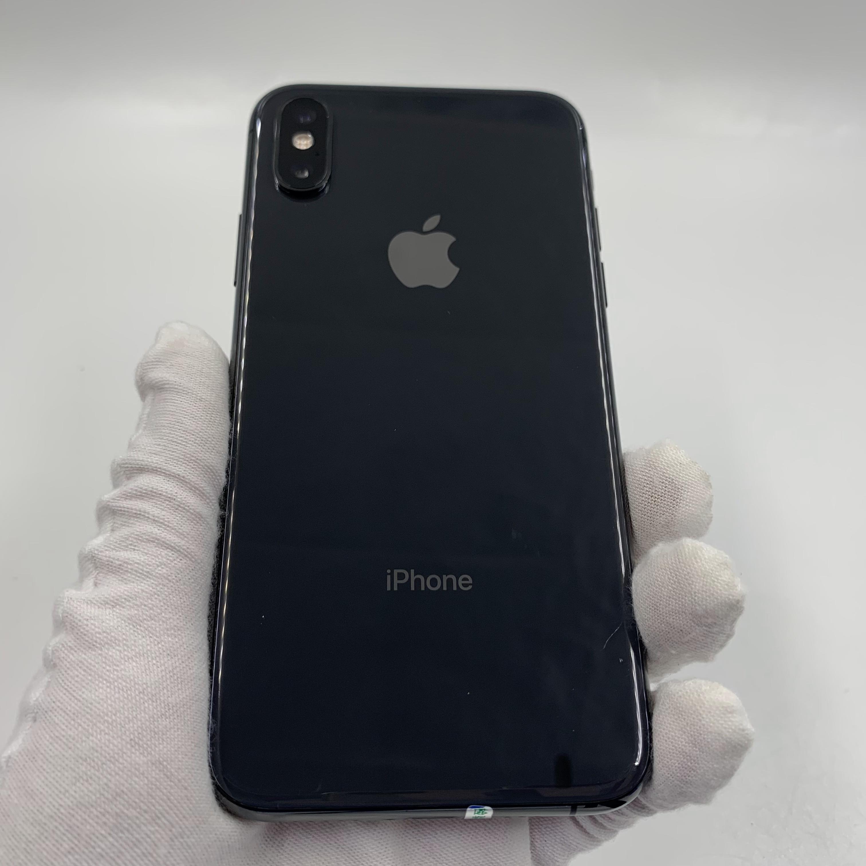 苹果【iPhone Xs】4G全网通 深空灰 64G 国行 9成新 真机实拍