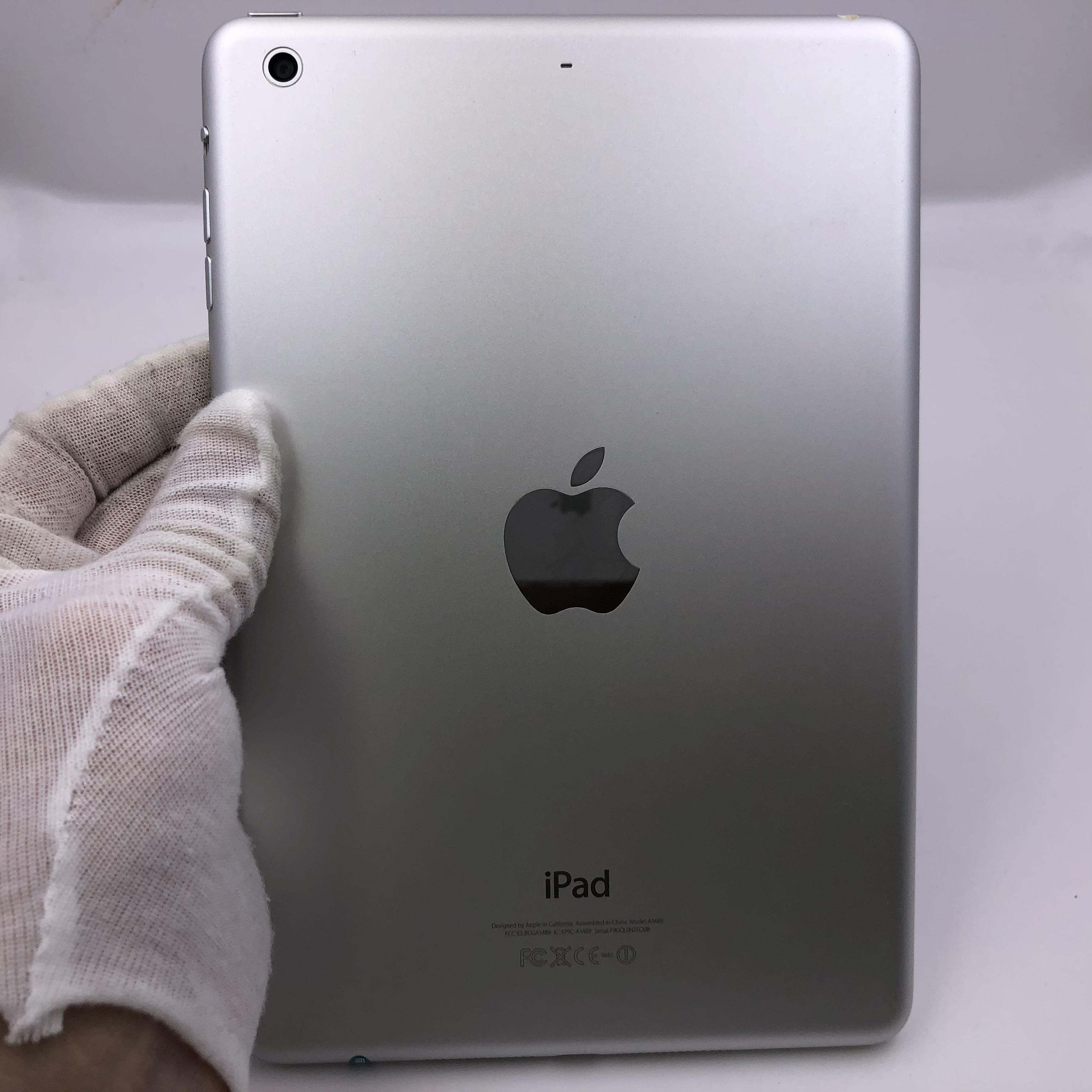 苹果【iPad Mini 2】WIFI版 银色 16G 国际版 9成新