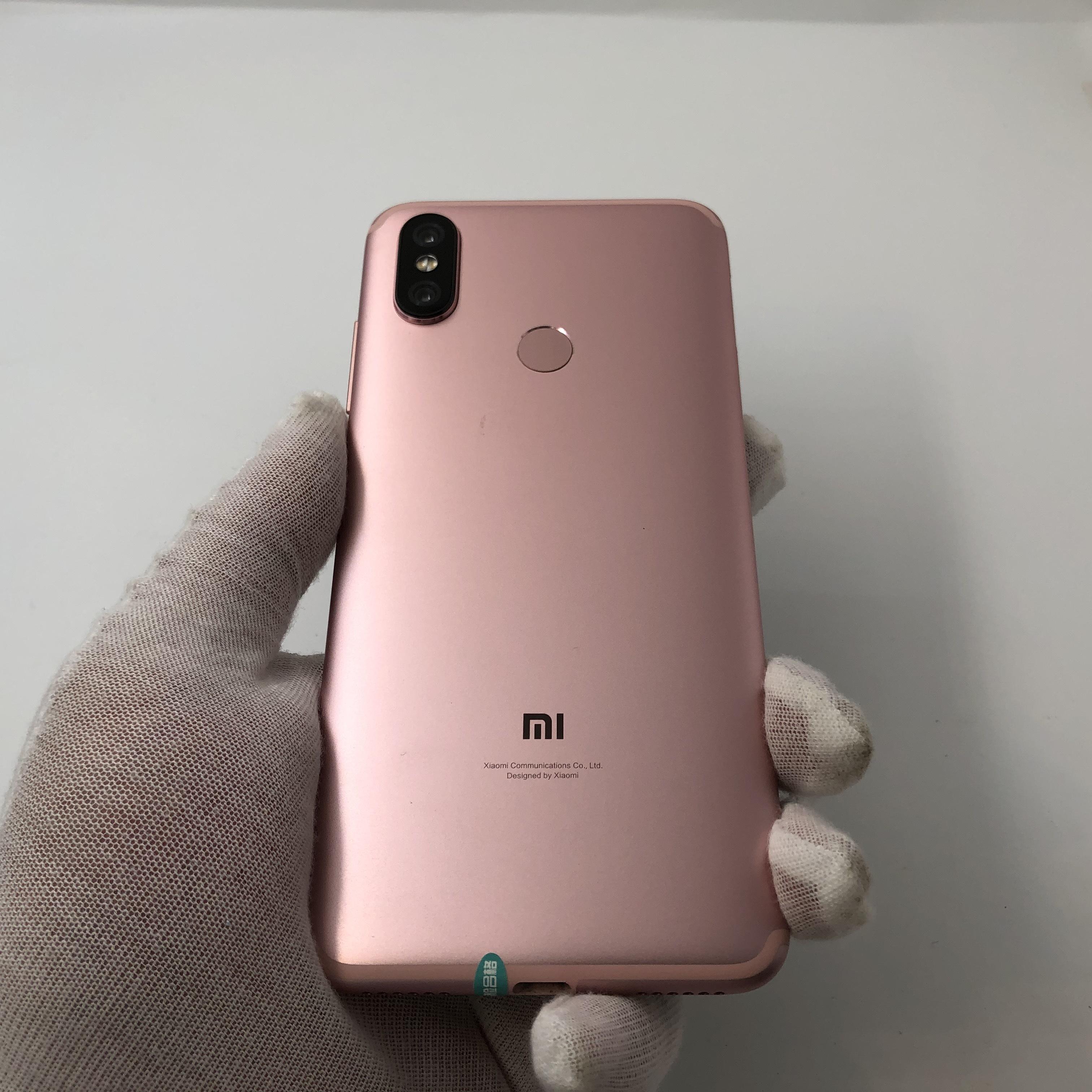 小米【小米 6X】4G全网通 粉色 4G/64G 国行 9成新