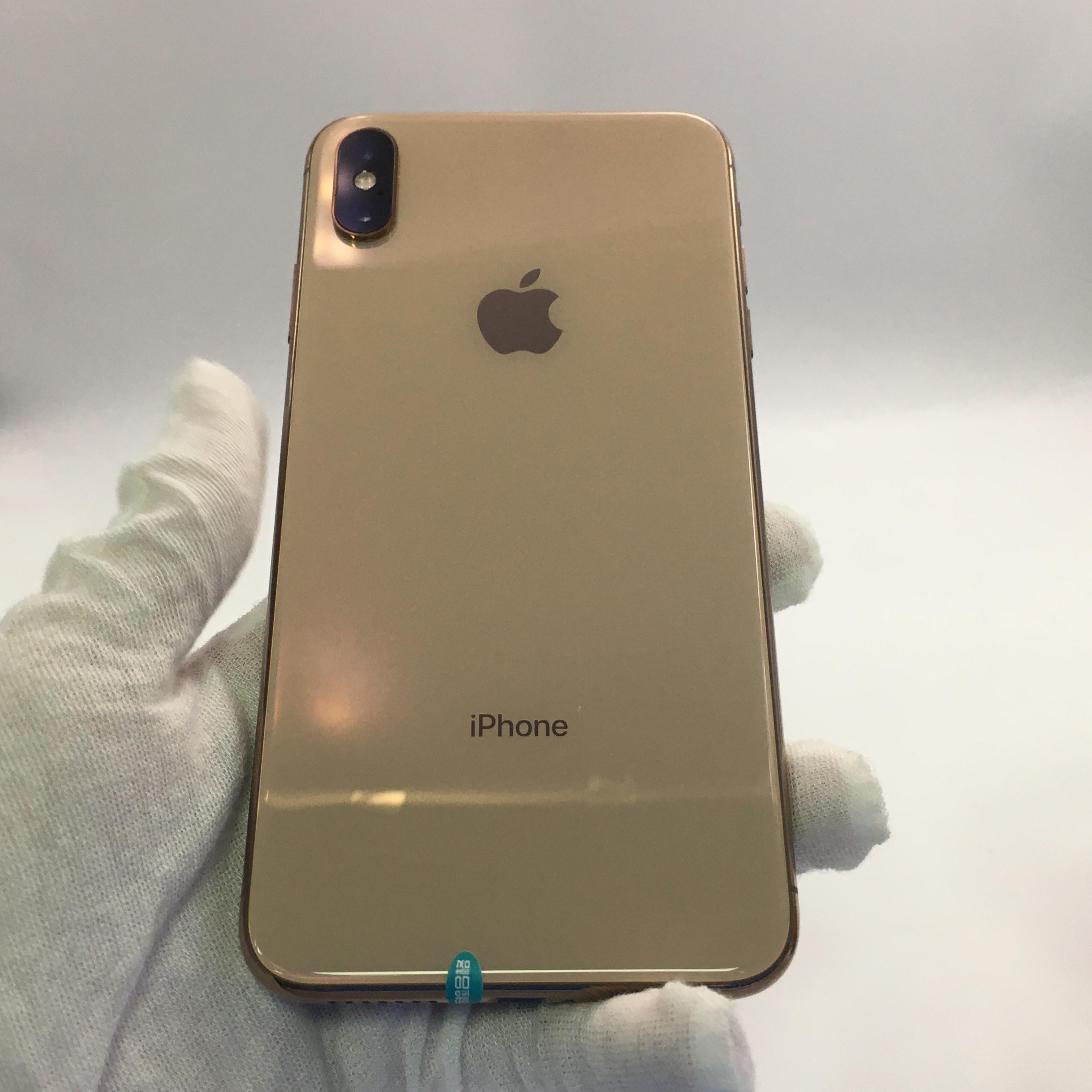 苹果【iPhone Xs Max】4G全网通 金色 64G 国行 9成新 64G真机实拍