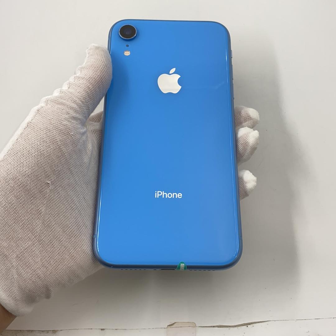 苹果【iPhone XR】4G全网通 蓝色 128G 国行 95新