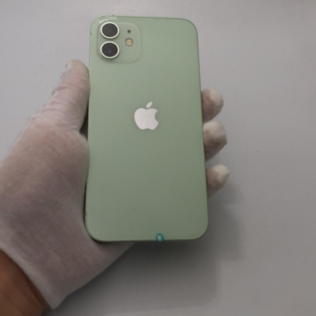 苹果【iPhone 12】5G全网通 绿色 128G 国行 95新