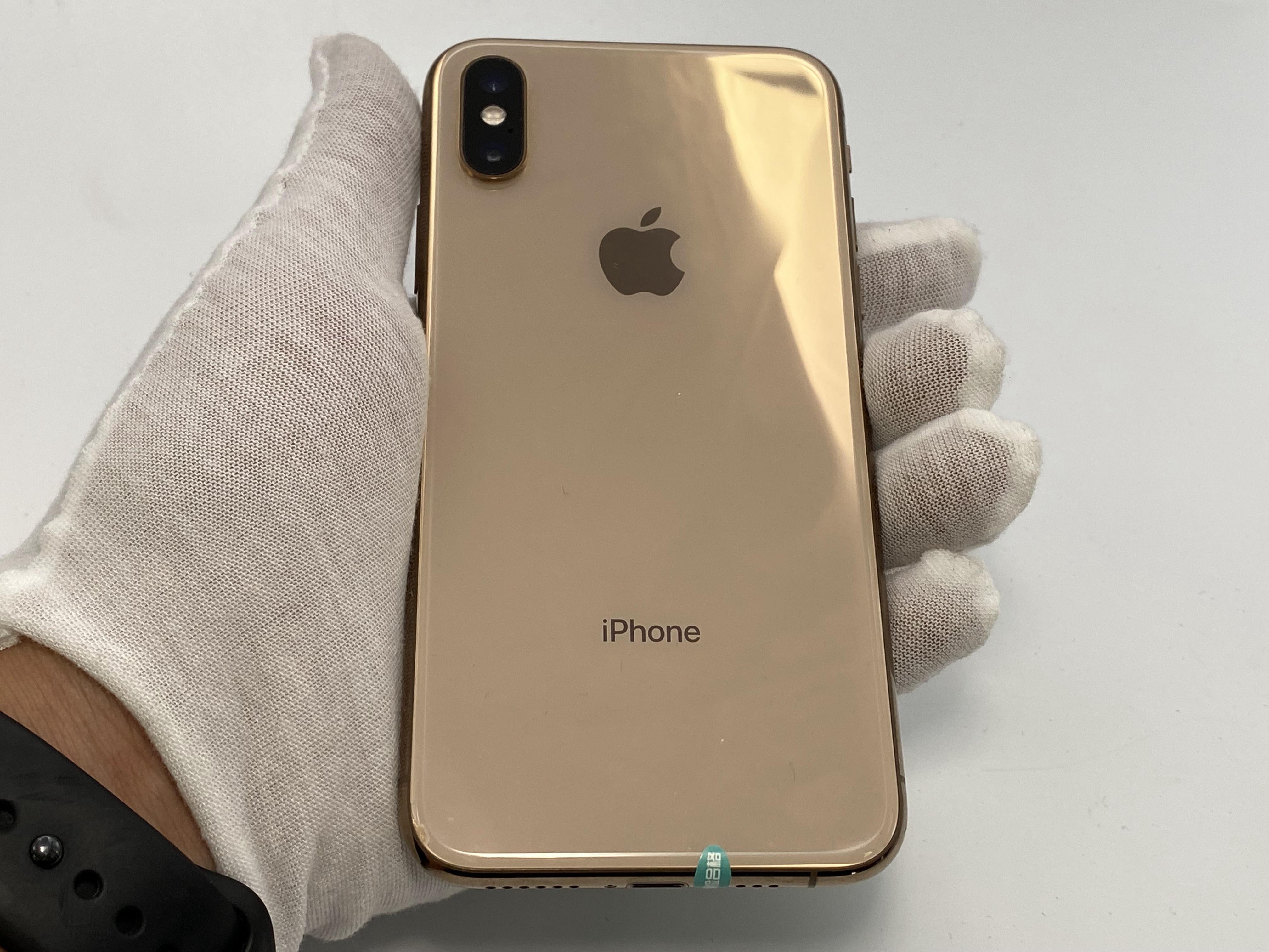 苹果【iPhone Xs】4G全网通 金色 64G 国行 95新