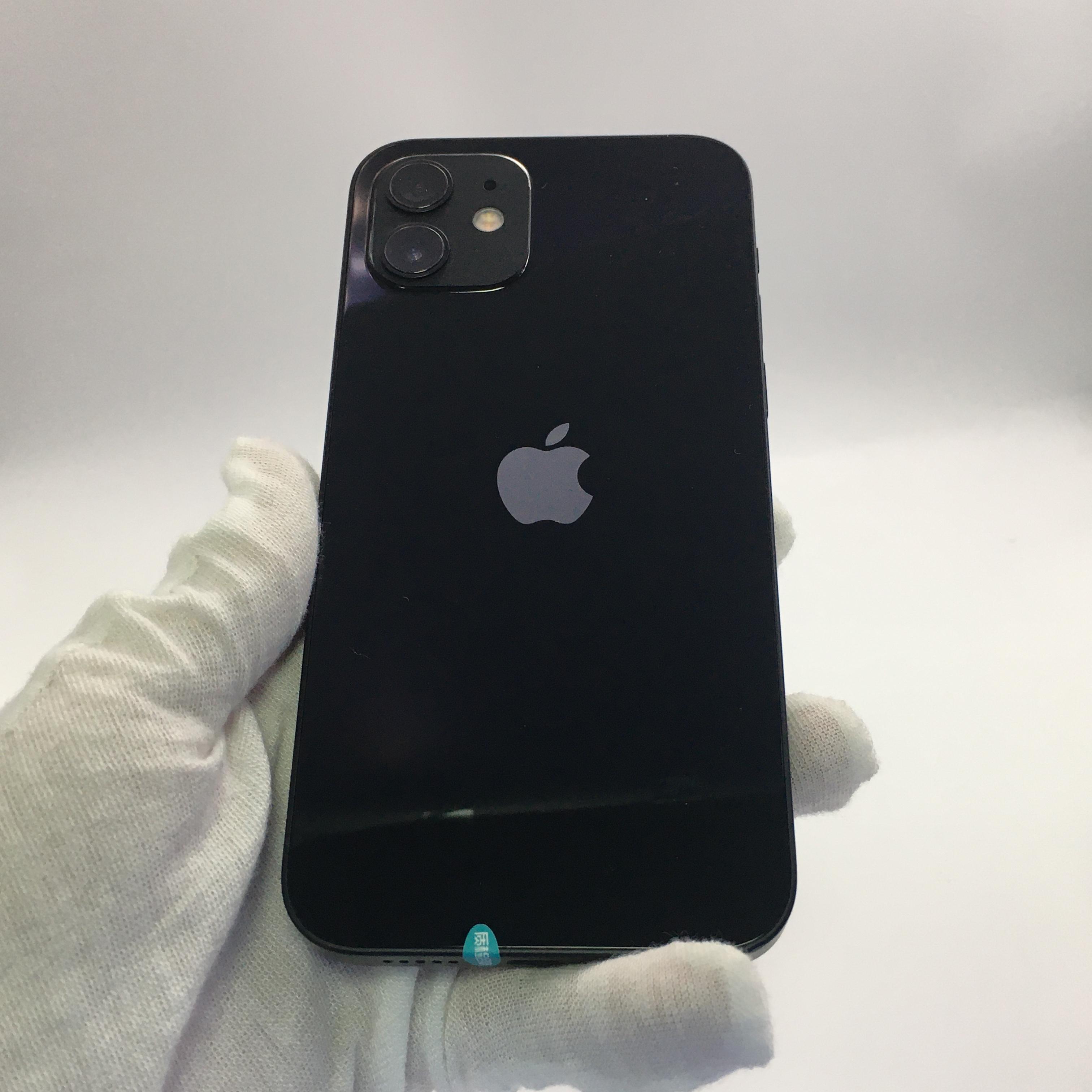 苹果【iPhone 12】5G全网通 黑色 128G 国行 99新 128G真机实拍