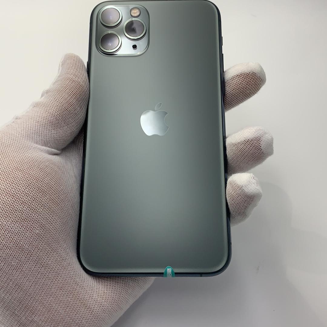 苹果【iPhone 11 Pro】4G全网通 暗夜绿色 256G 国行 9成新