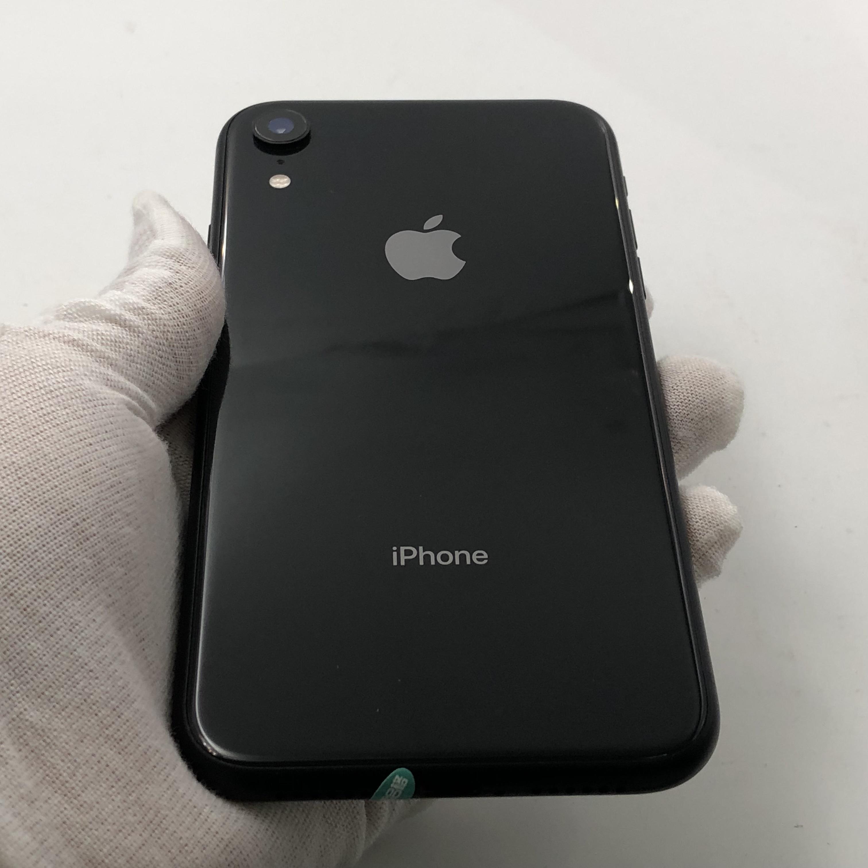 苹果【iPhone XR】4G全网通 黑色 256G 国行 95新