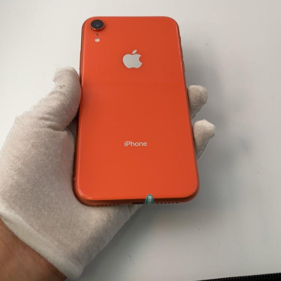 苹果【iPhone XR】4G全网通 珊瑚色 64G 国行 95新