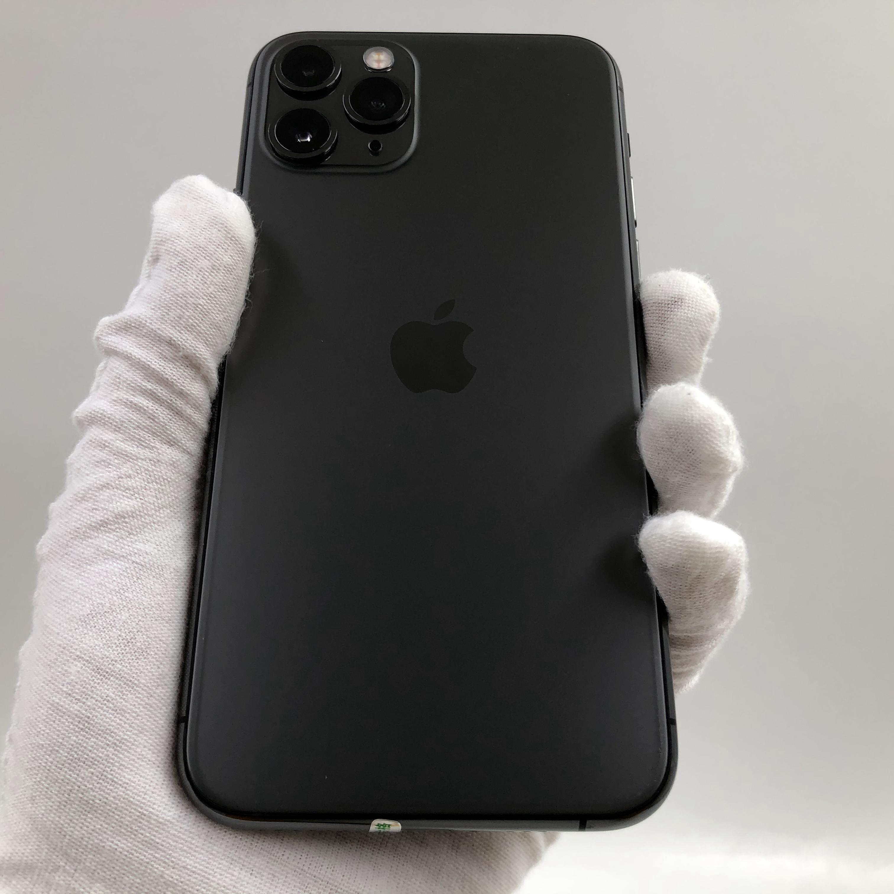苹果【iPhone 11 Pro】4G全网通 深空灰 64G 国行 9成新 真机实拍