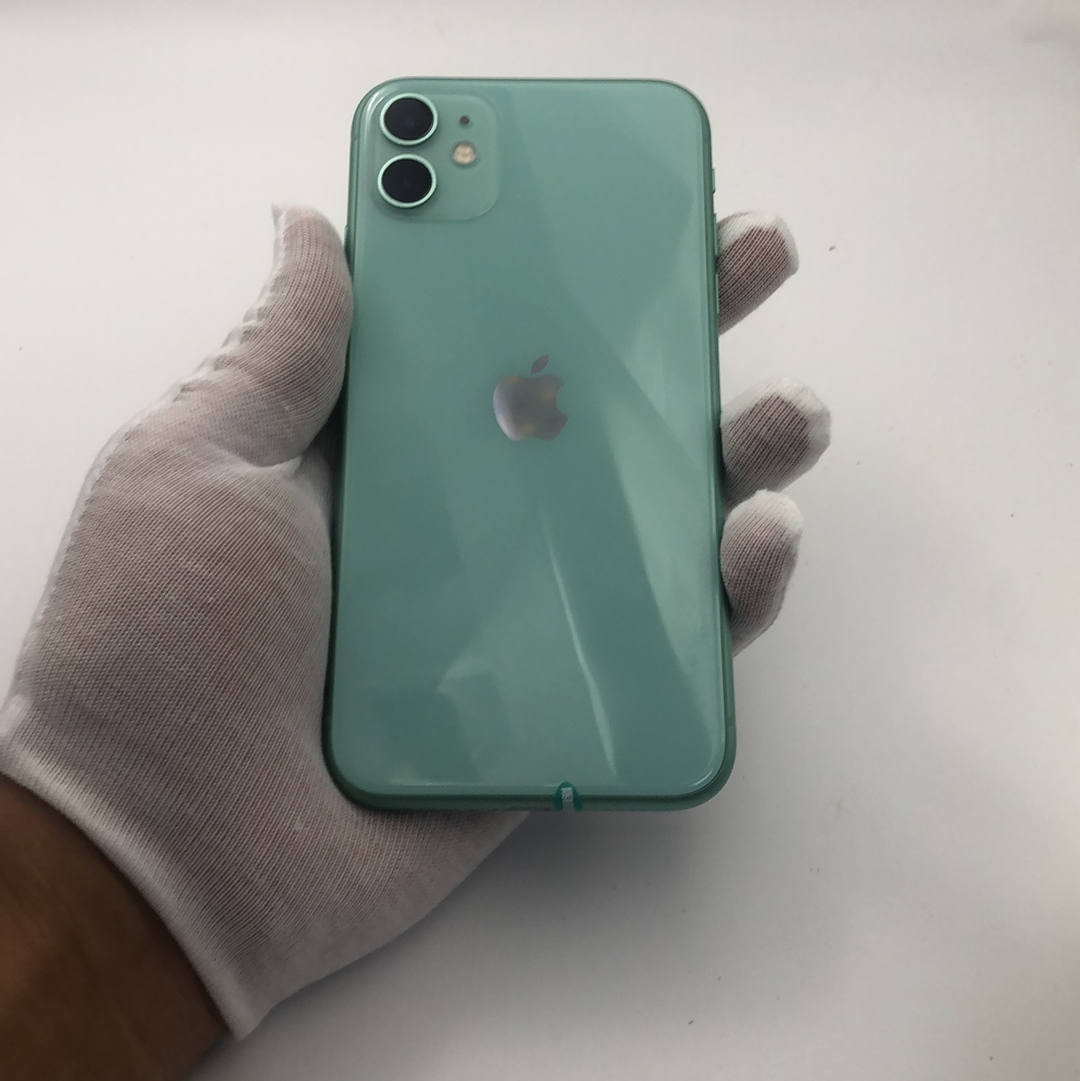 苹果【iPhone 11】4G全网通 绿色 128G 国行 99新
