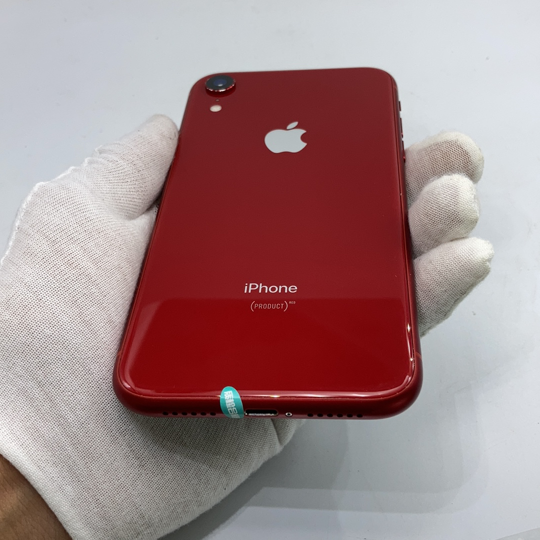 苹果【iPhone XR】4G全网通 红色 64G 国际版 95新