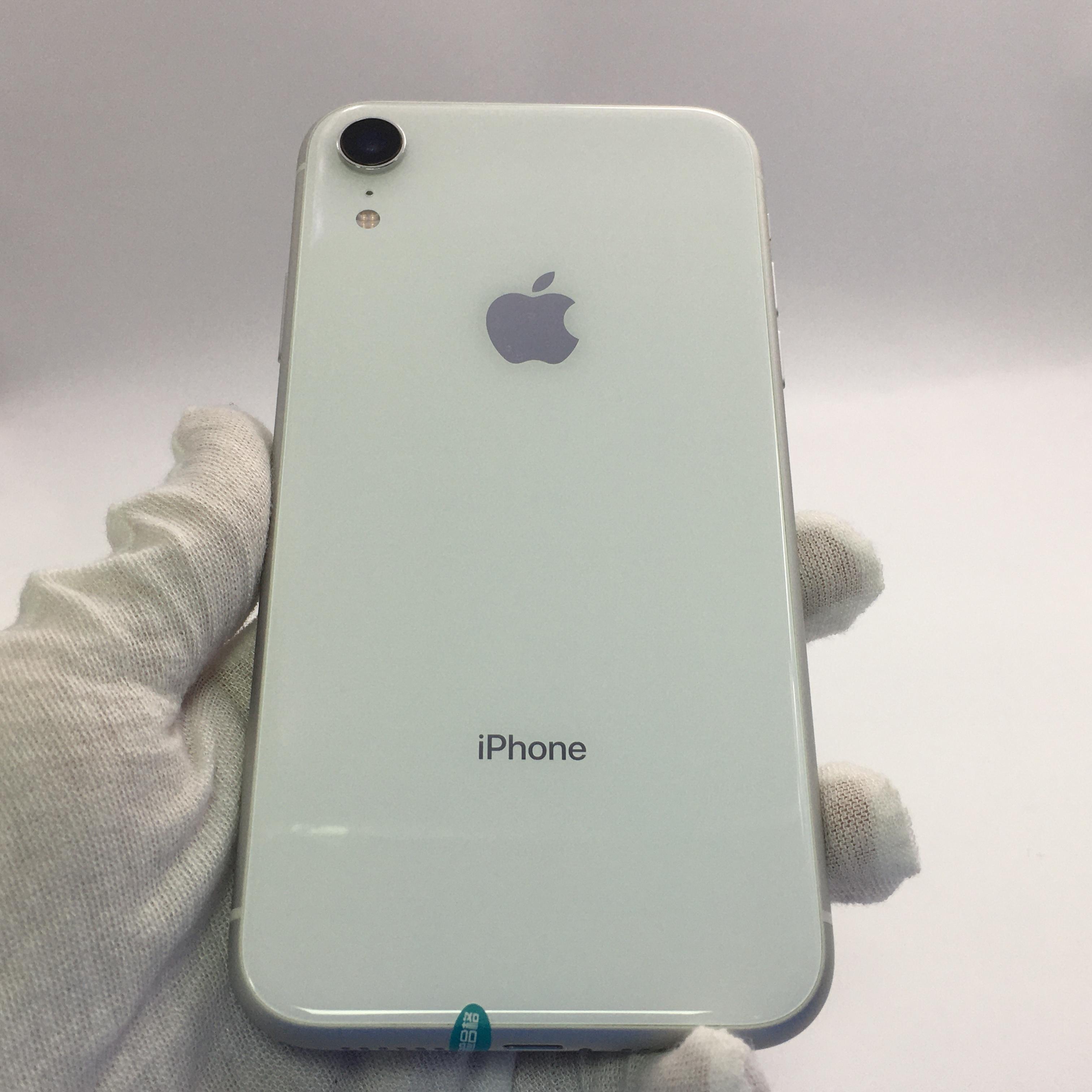 苹果【iPhone XR】4G全网通 白色 64G 国行 8成新 64G真机实拍