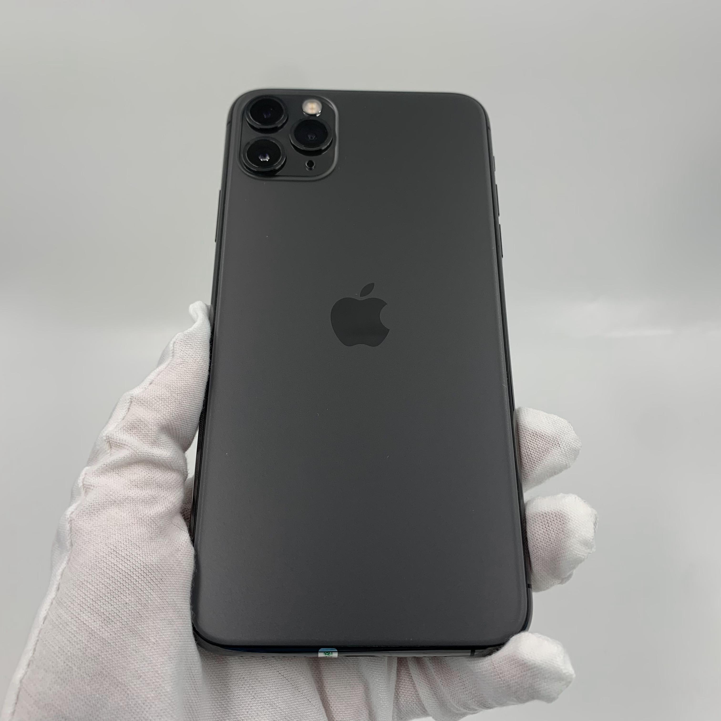 苹果【iPhone 11 Pro Max】4G全网通 深空灰 64G 国行 9成新 真机实拍